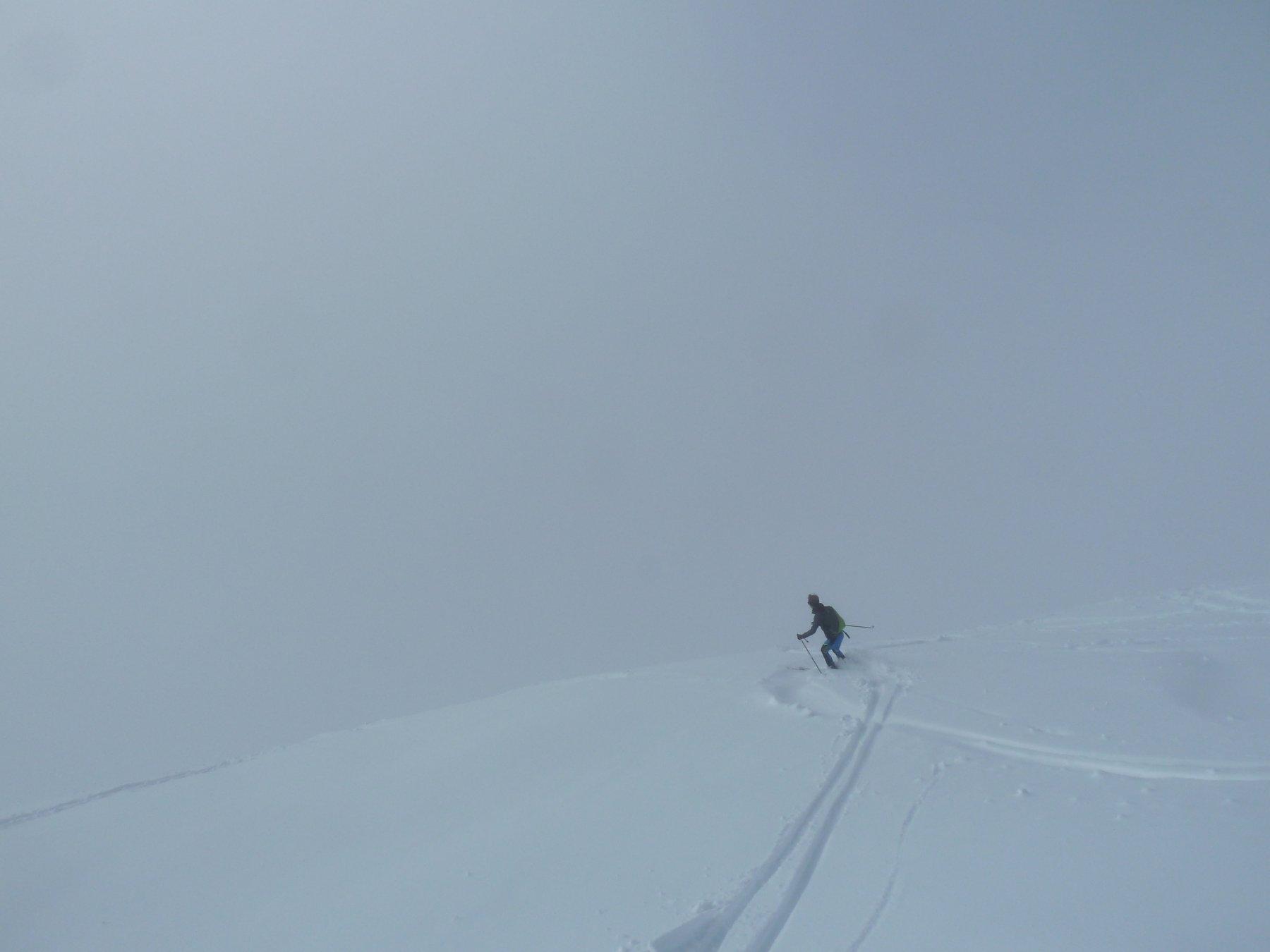 verso il muro di nebbia