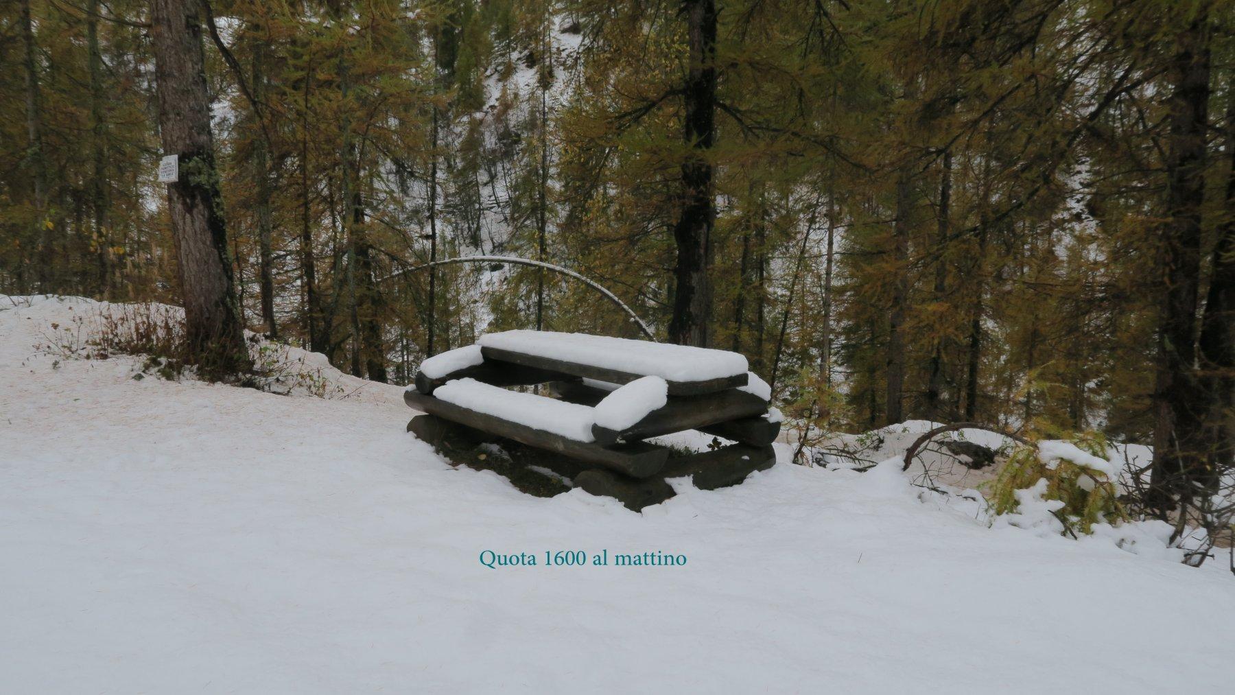 Neve effimera