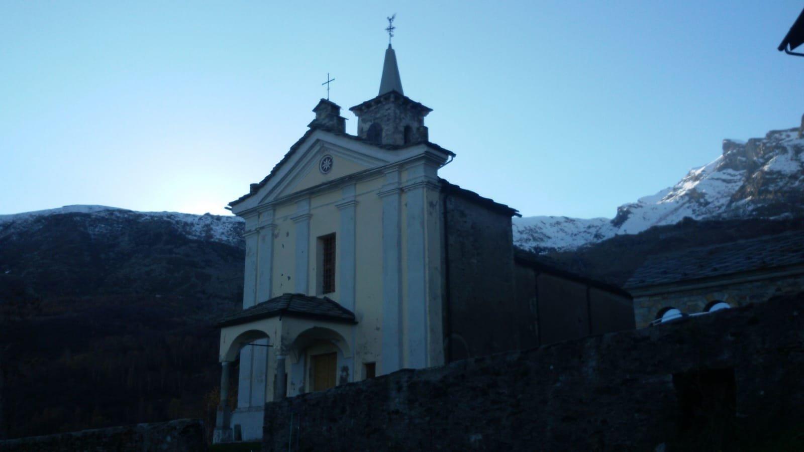 La chiesetta di San Quirico