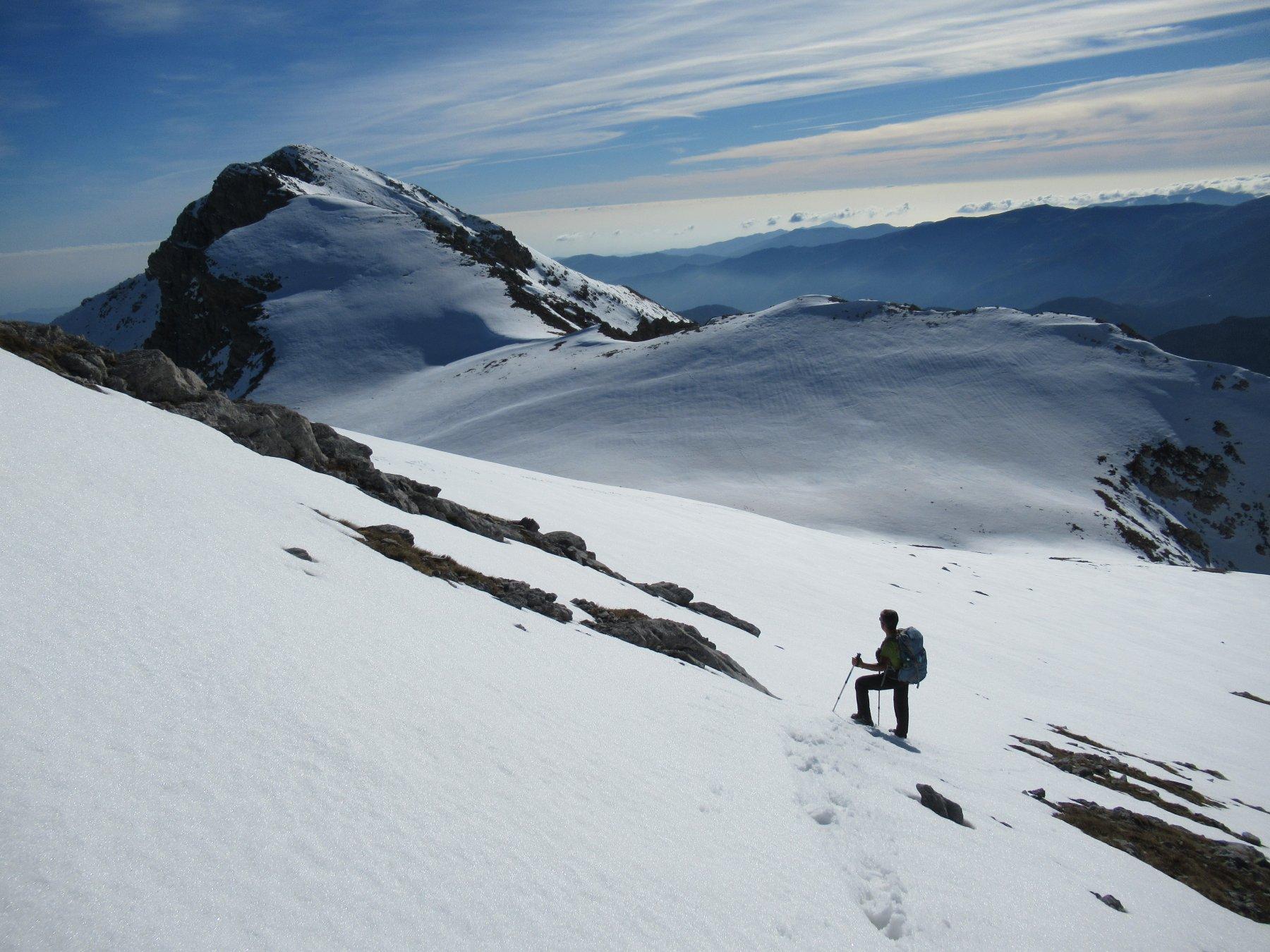 Dal Monte Rotondo drezione Bric Conoia