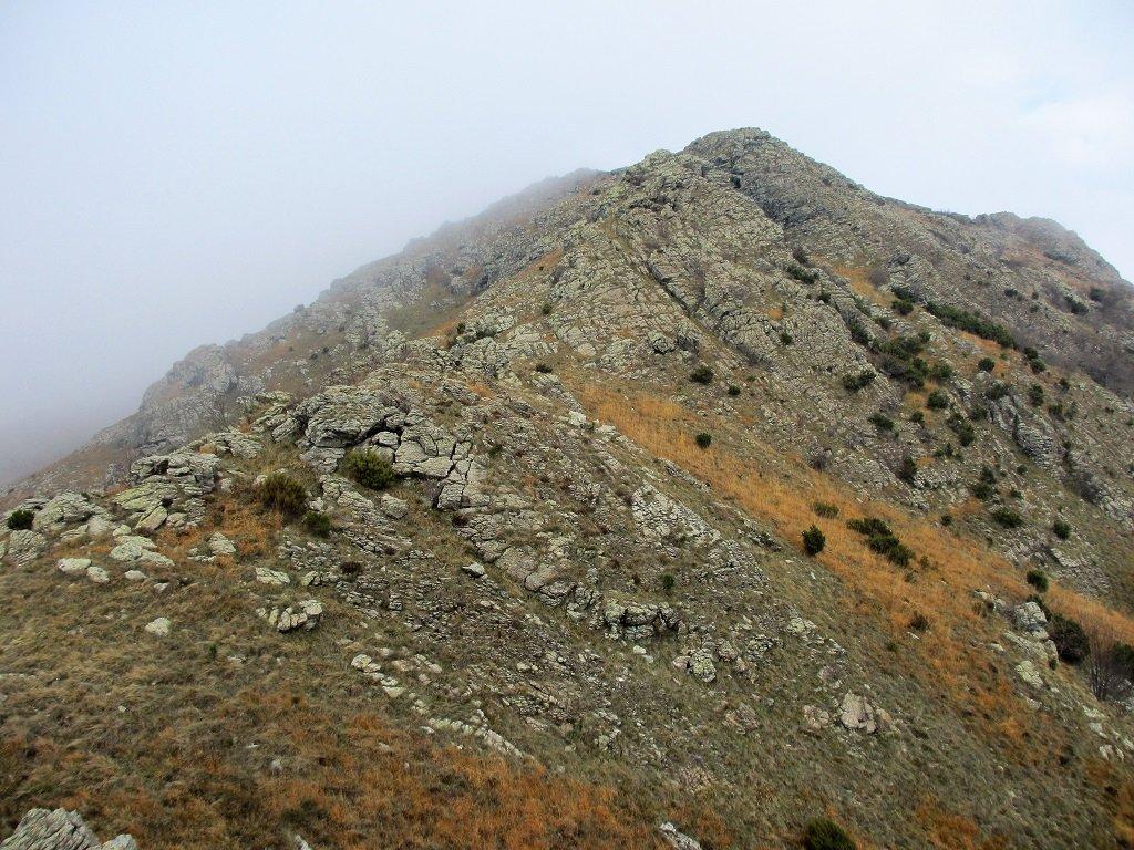 Inizio cresta al monte Fardello