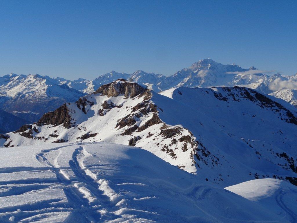 Monte Bianco e Pointe du Drinc