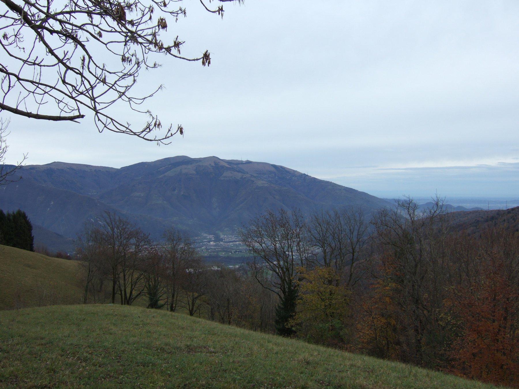 da La Fossa verso il Monte Cesen
