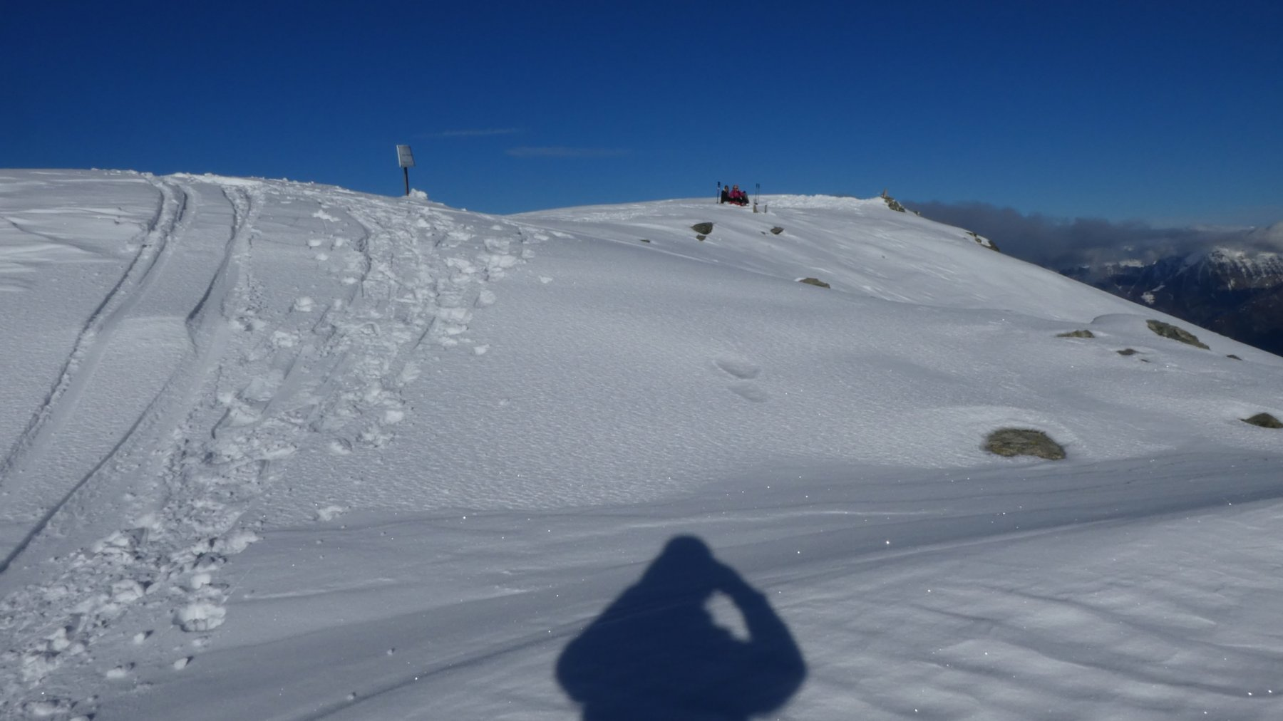 l'ampio calottone della cima