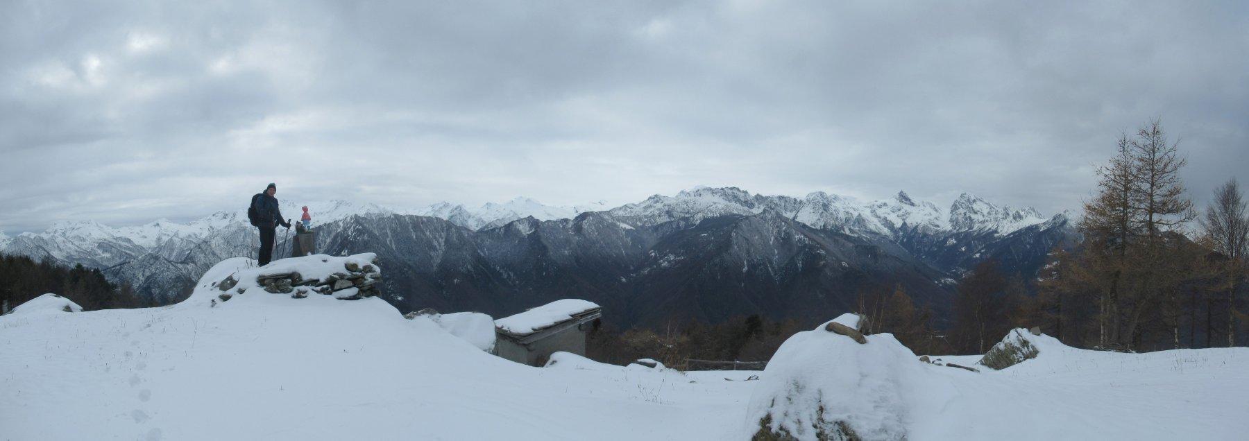 Panorama (ridotto) dall'Alpe Seura