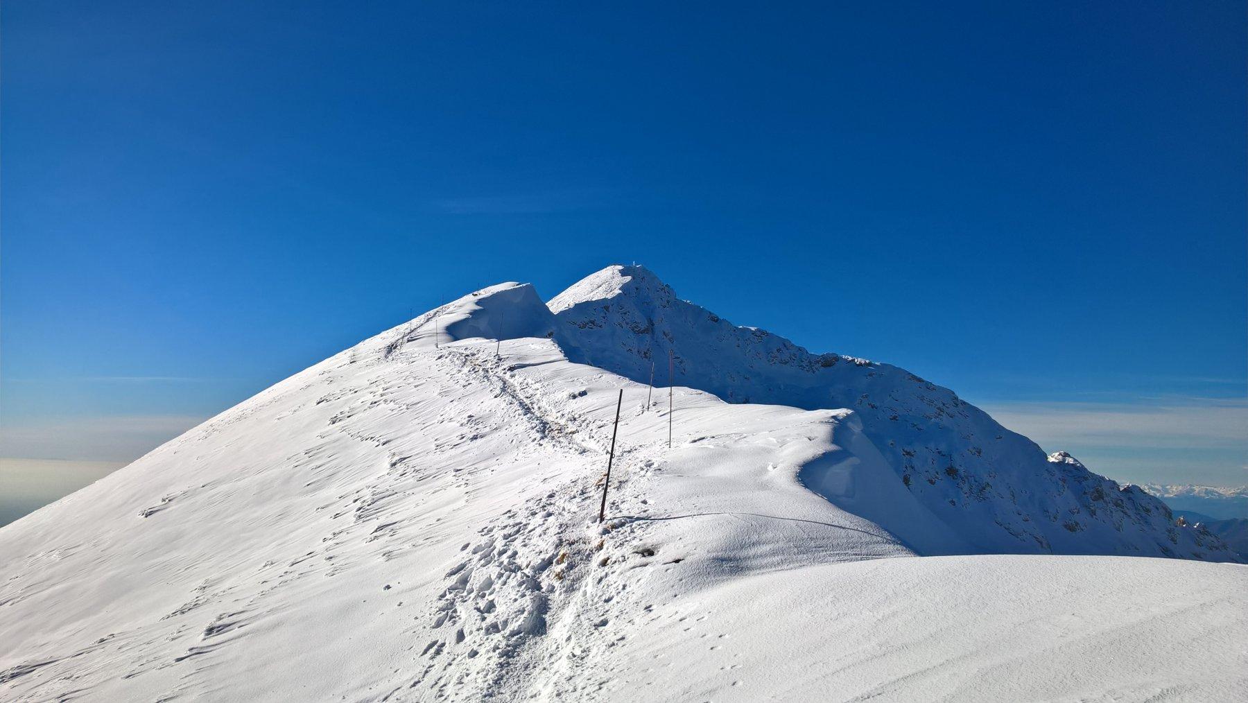 Grigna Settentrionale o Grignone da Colle di Balisio, anello per la Bocchetta del Nevaio 2018-11-28