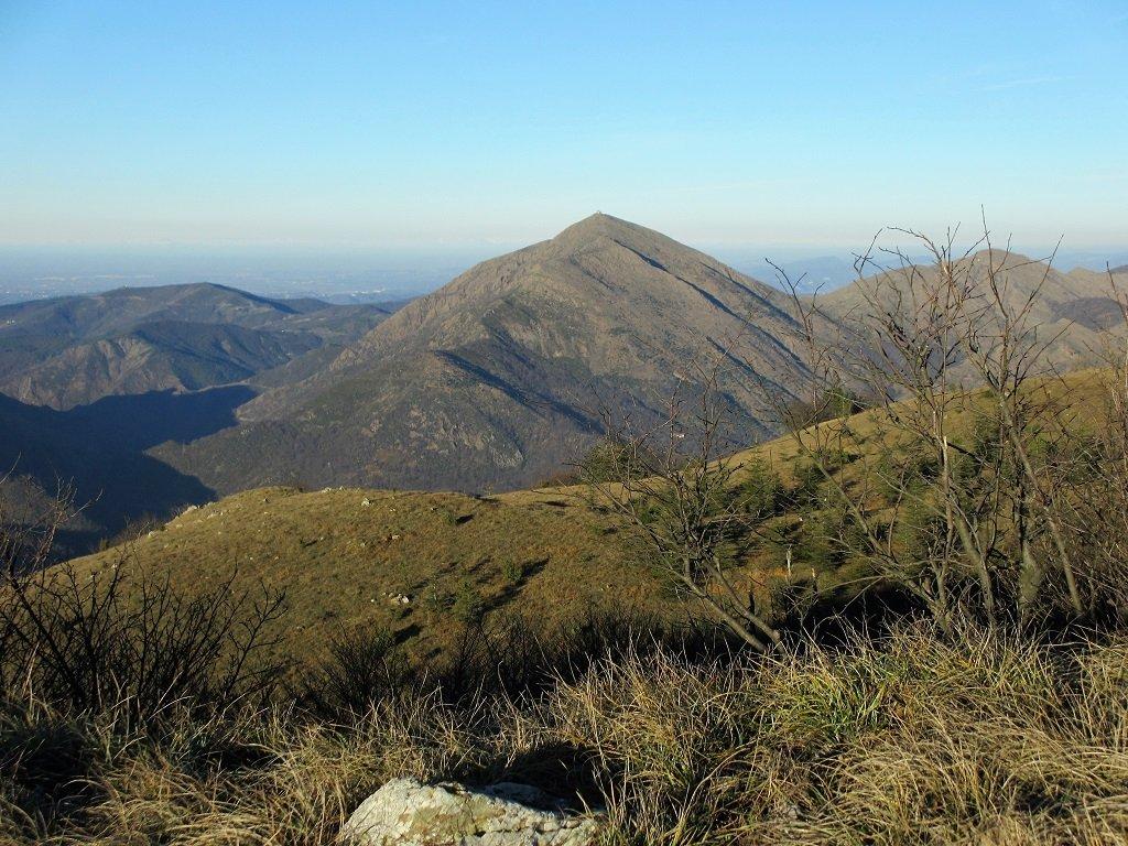 Panoramica sul Tobbio