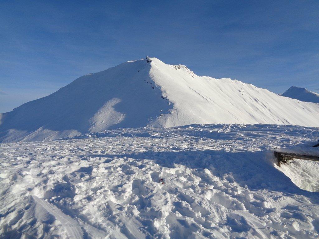 Monte Ruitas dalla cima