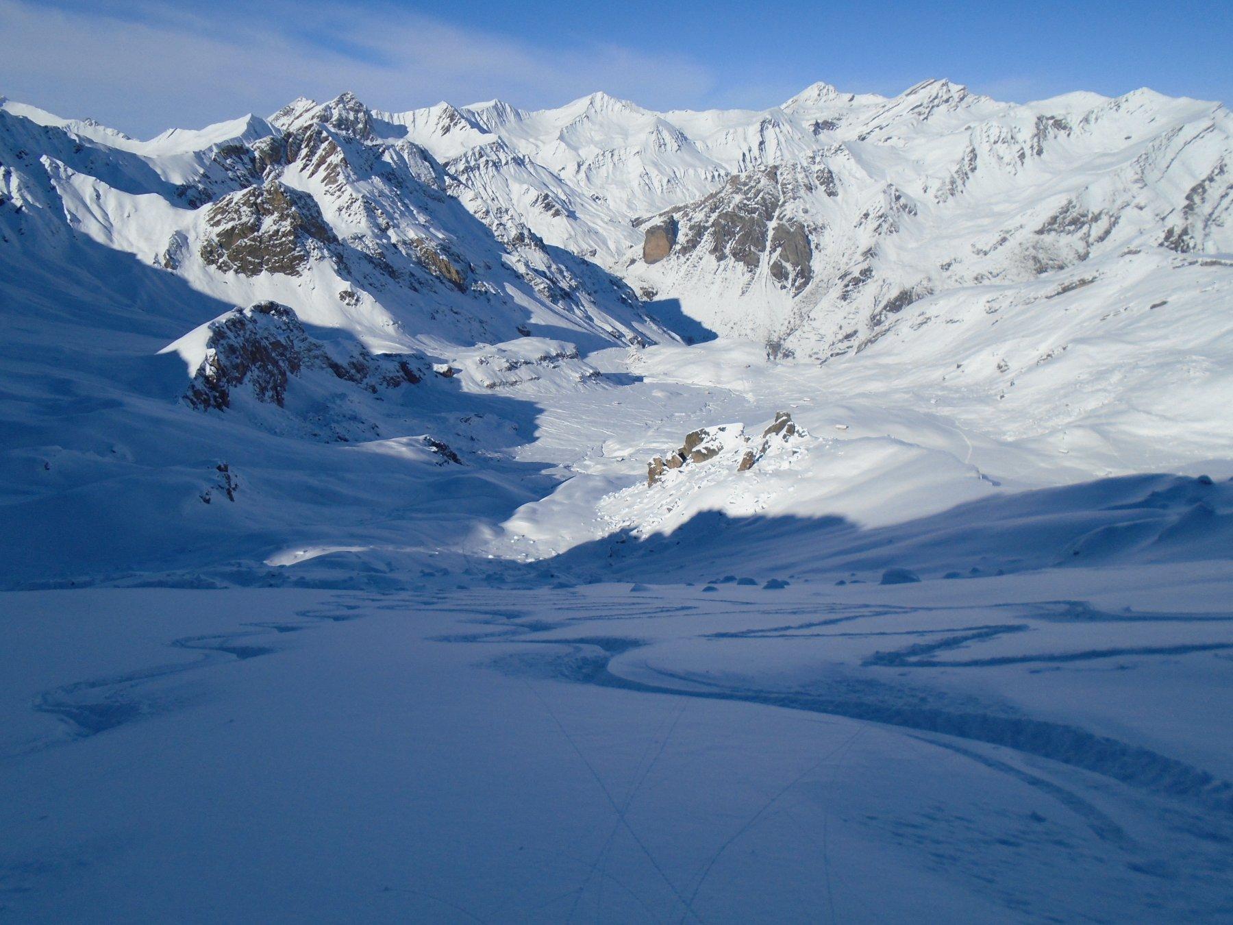 Neve spettacolare in alto