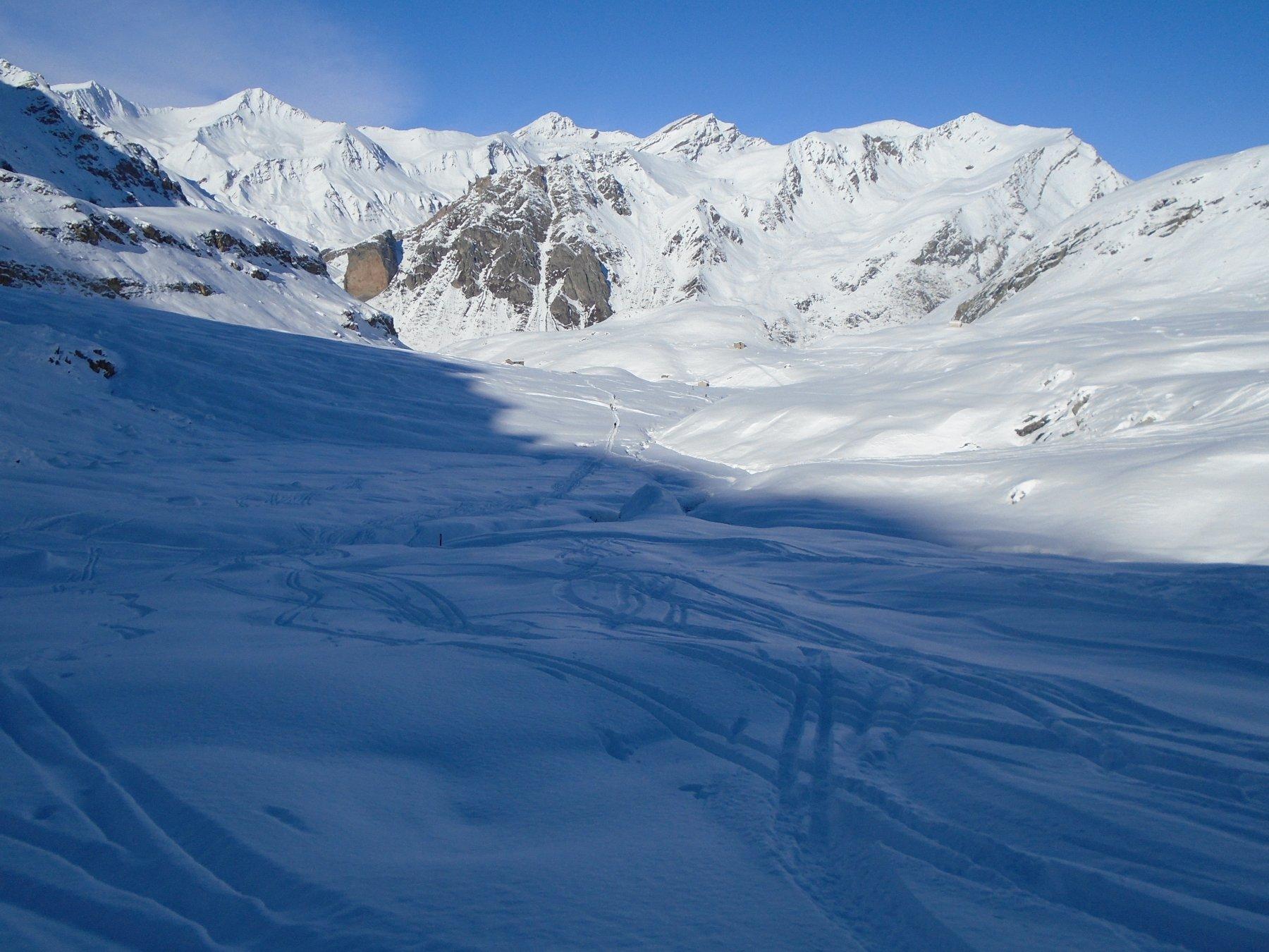Pian Traversagn: tanta neve fresca