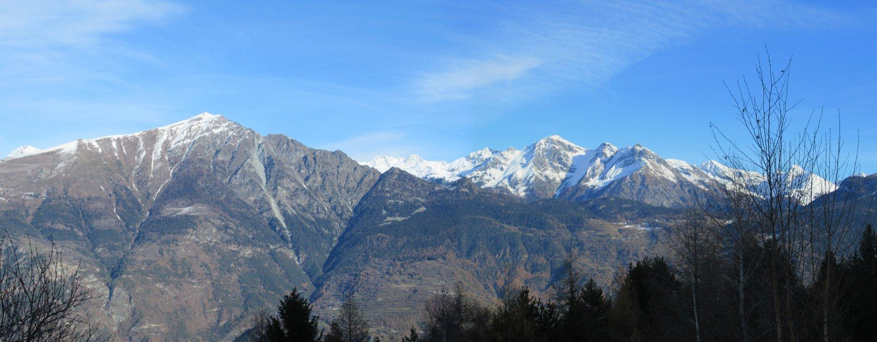 Zerbion e Monte Rosa