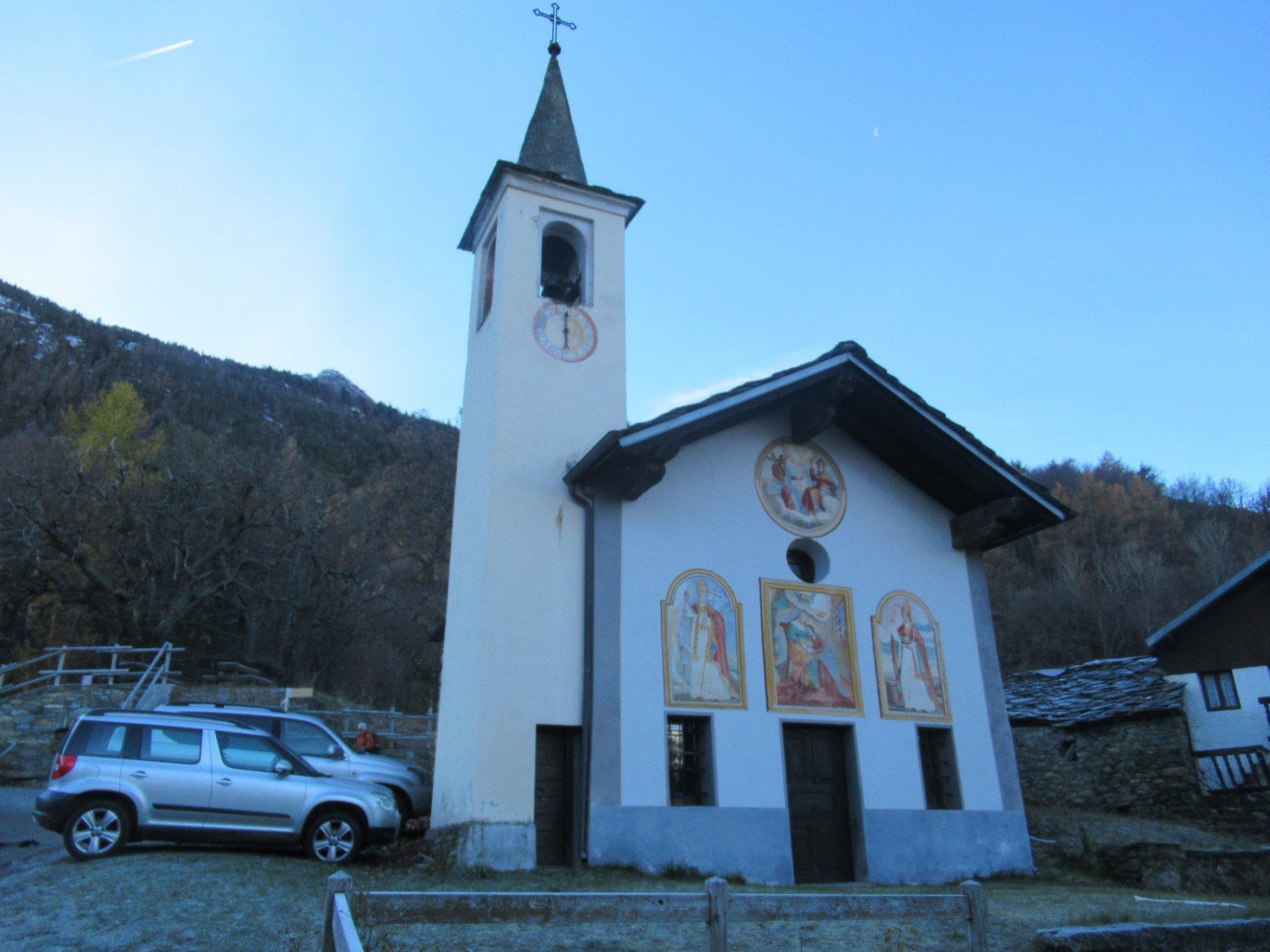 La partenza Cappella di Sant'Anna Bellecombe