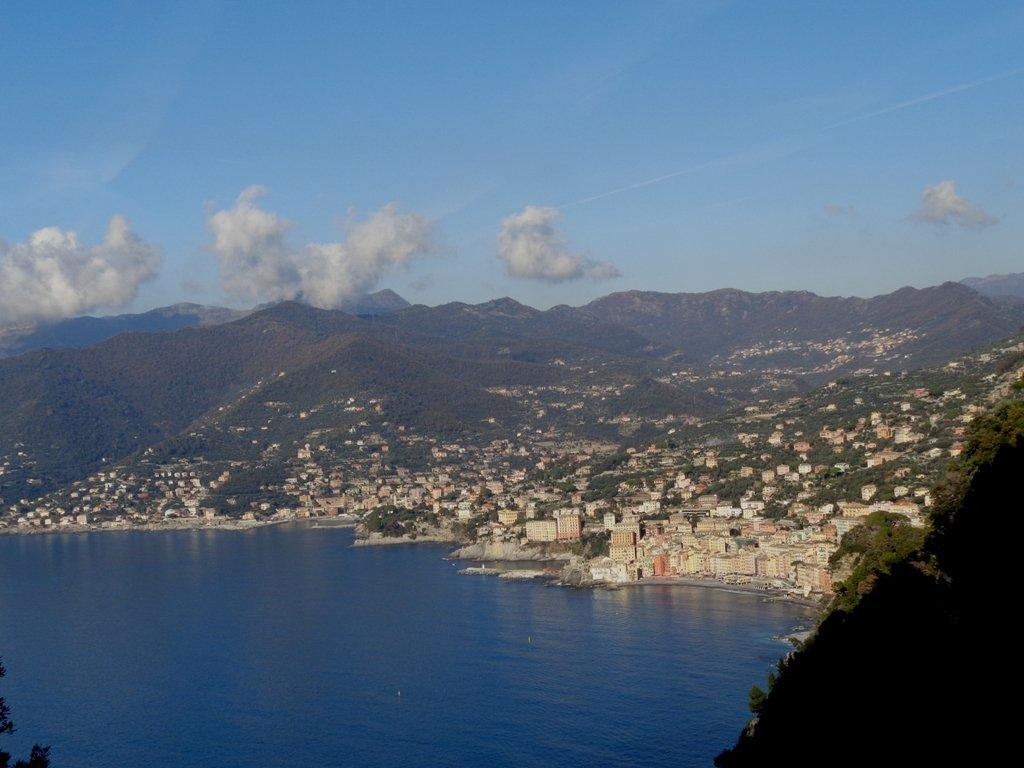 Panorama sul Golfo Paradiso da San Rocco