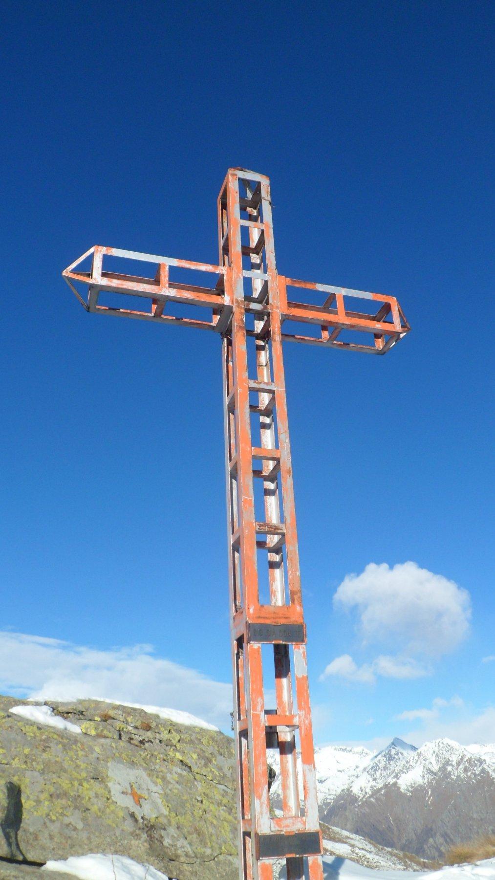 Croce dell'anticima dell'Arbella
