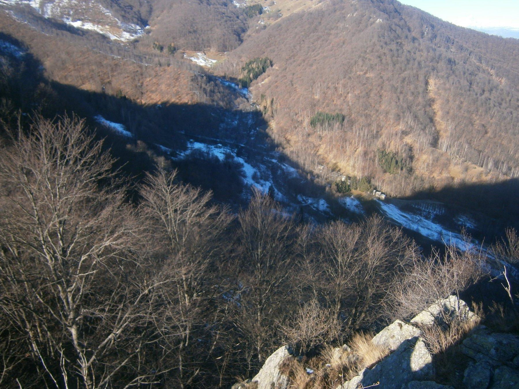 Area Meschie dalla cima