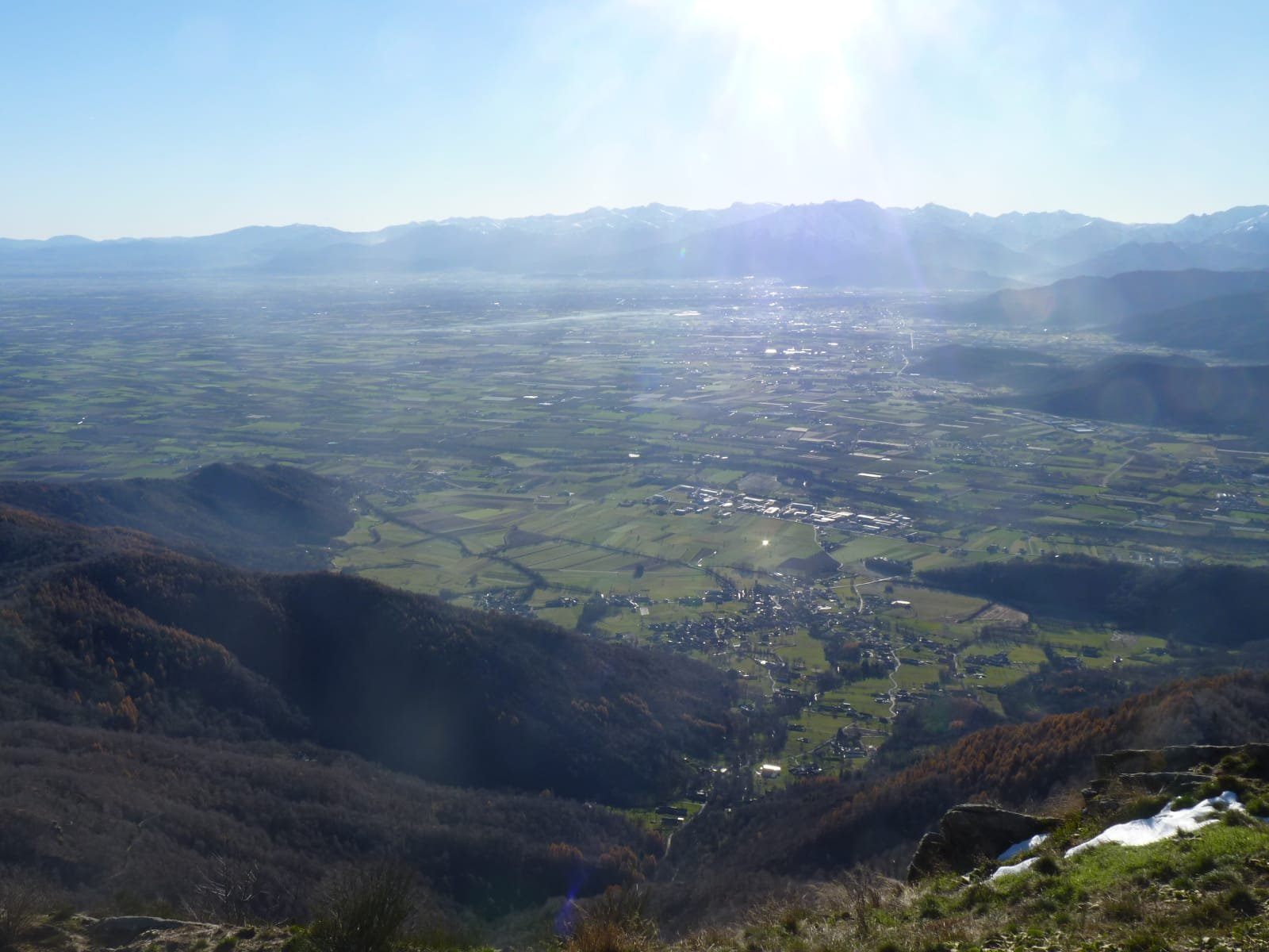 Panorama verso Cuneo