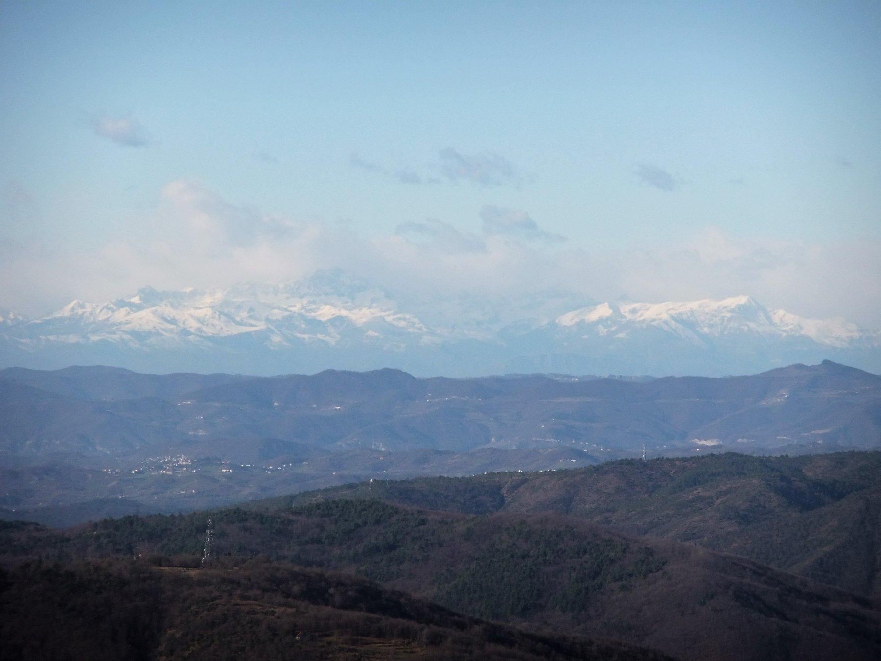 Alpi innevate dal Dentino