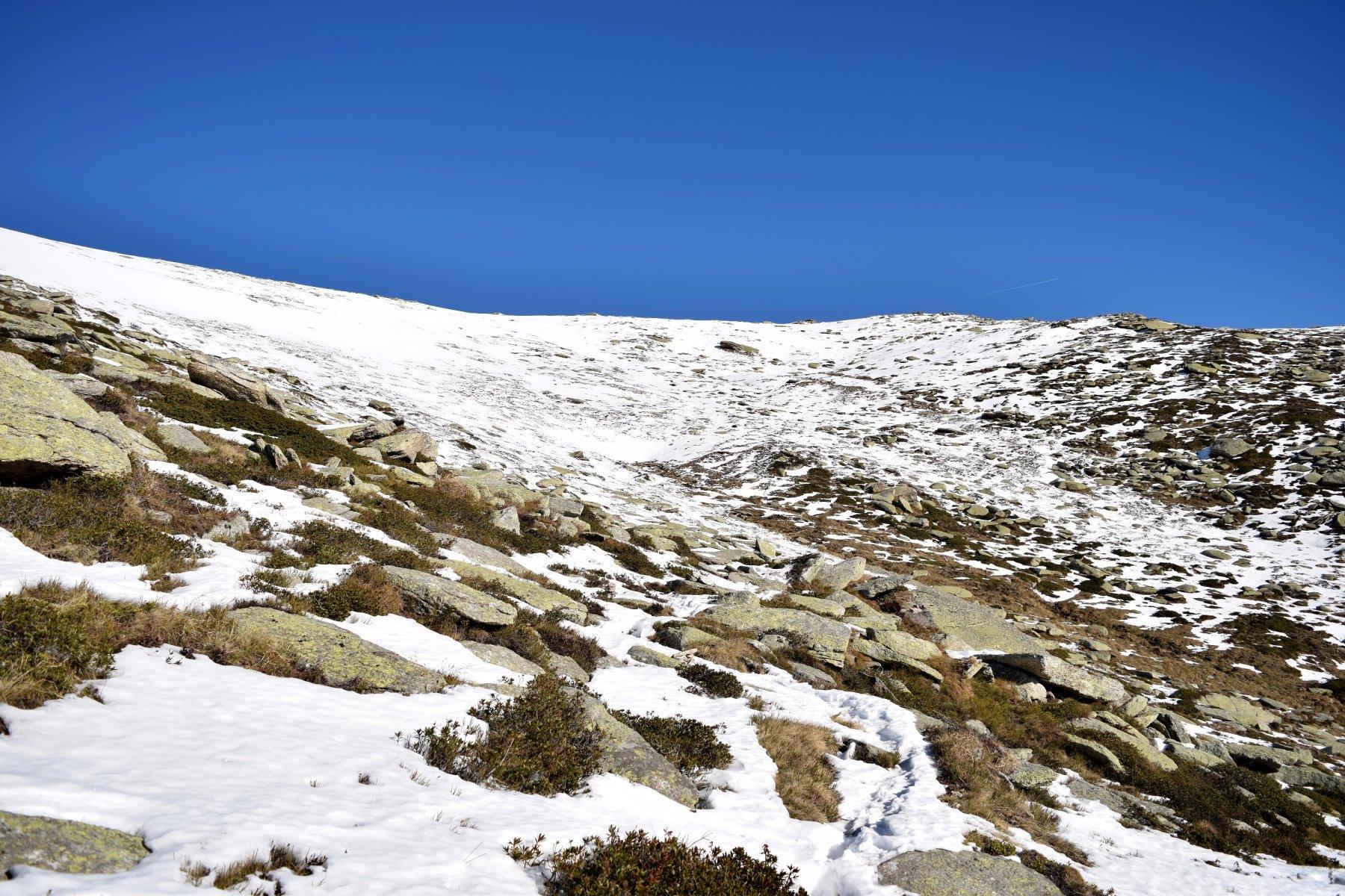 Da dove inizia la neve quota 2000 metri.