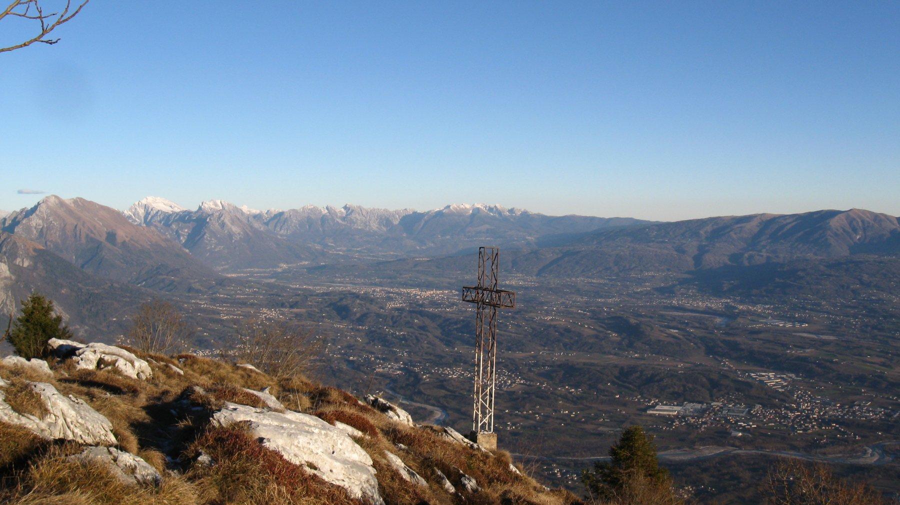 dal Monte Piz verso la Val Belluna