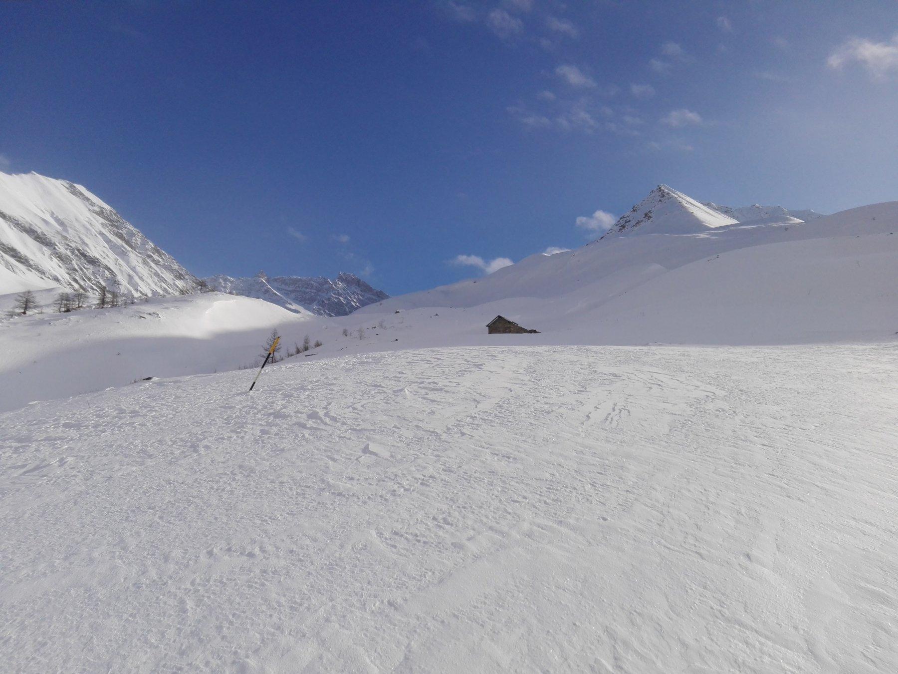 Panoramica a Monte del Rifugio