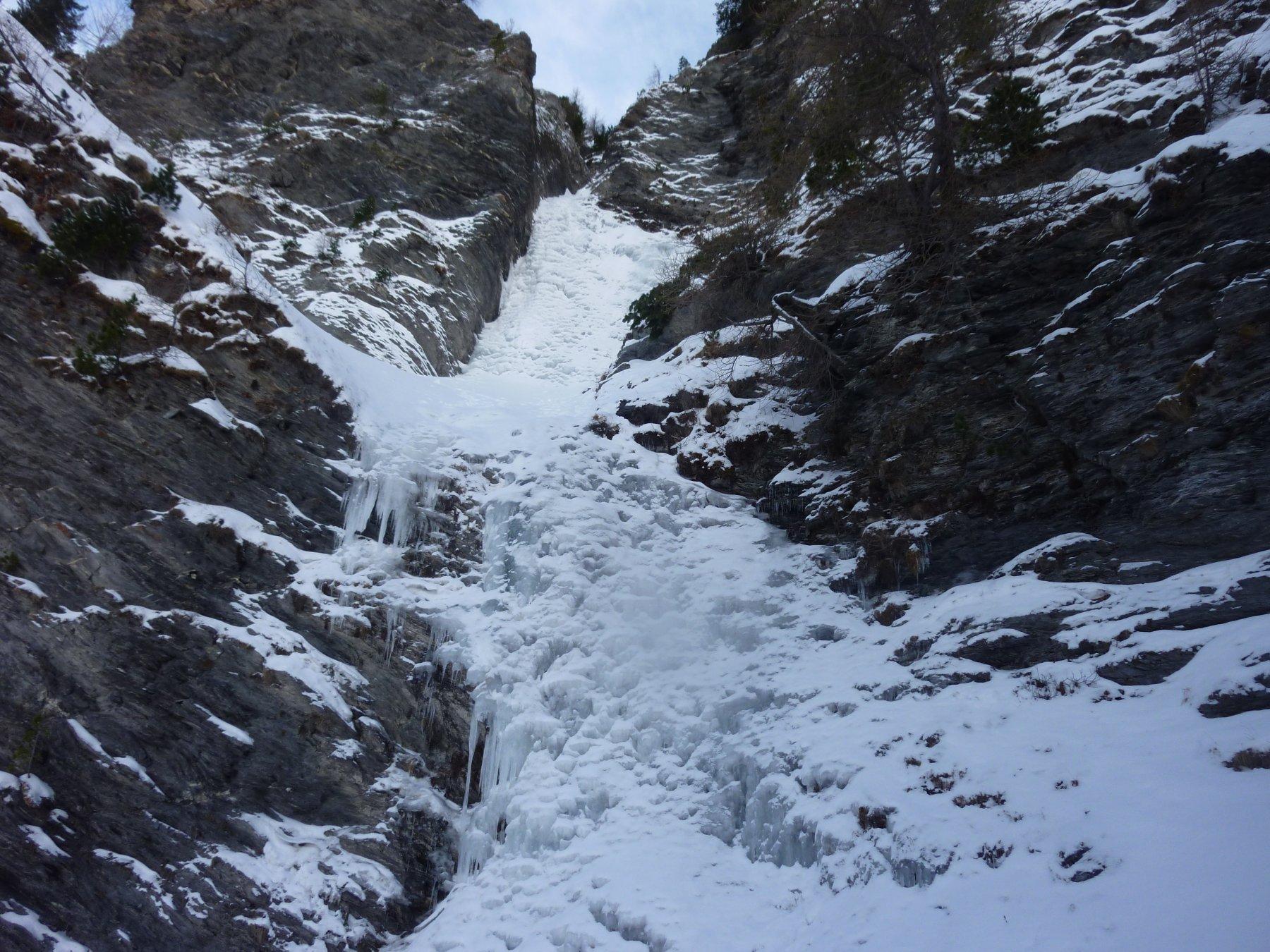 Chianale Salto dei Pachidermi (Cascata) 2018-12-17