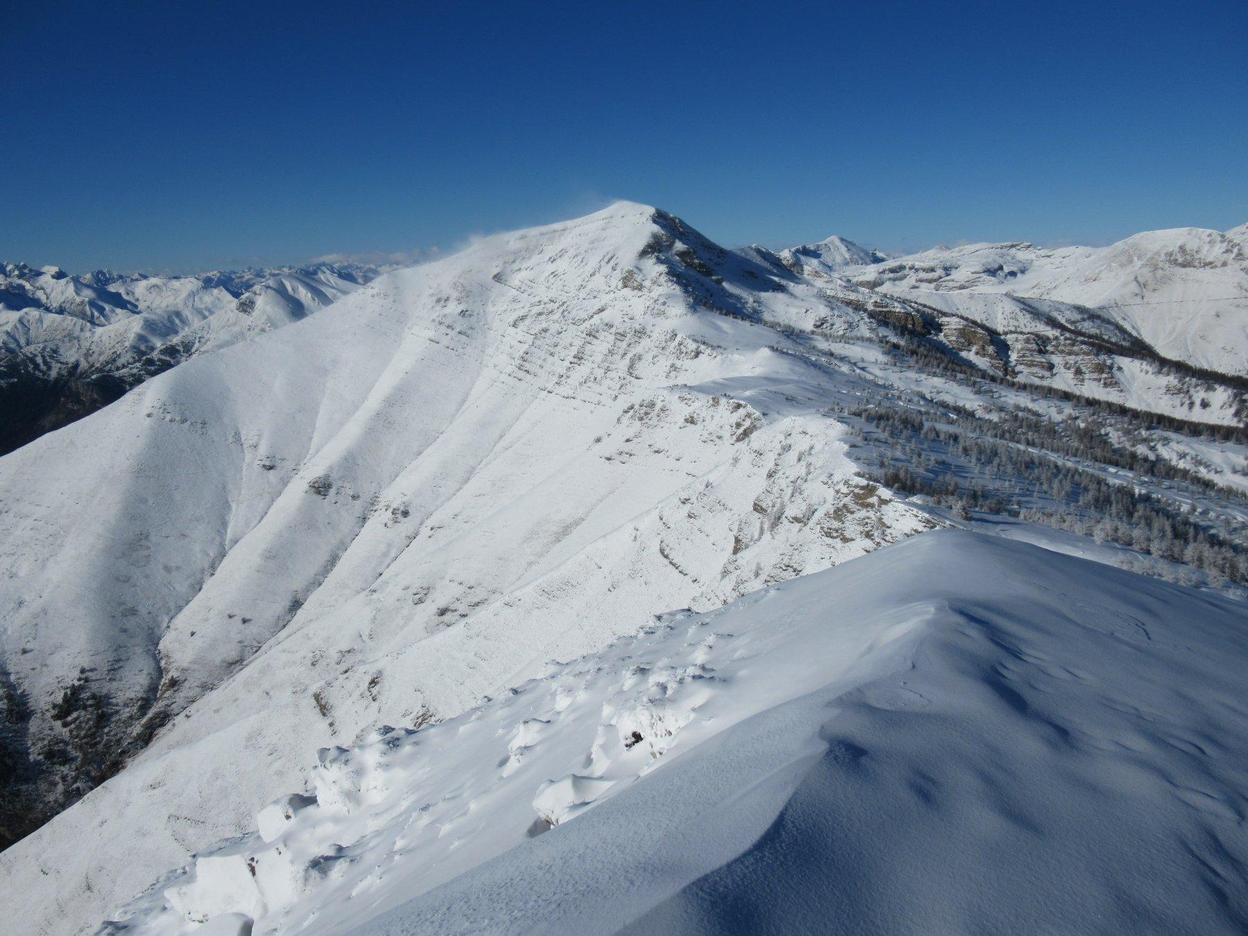 Monte Bertrand da Cima Missun.