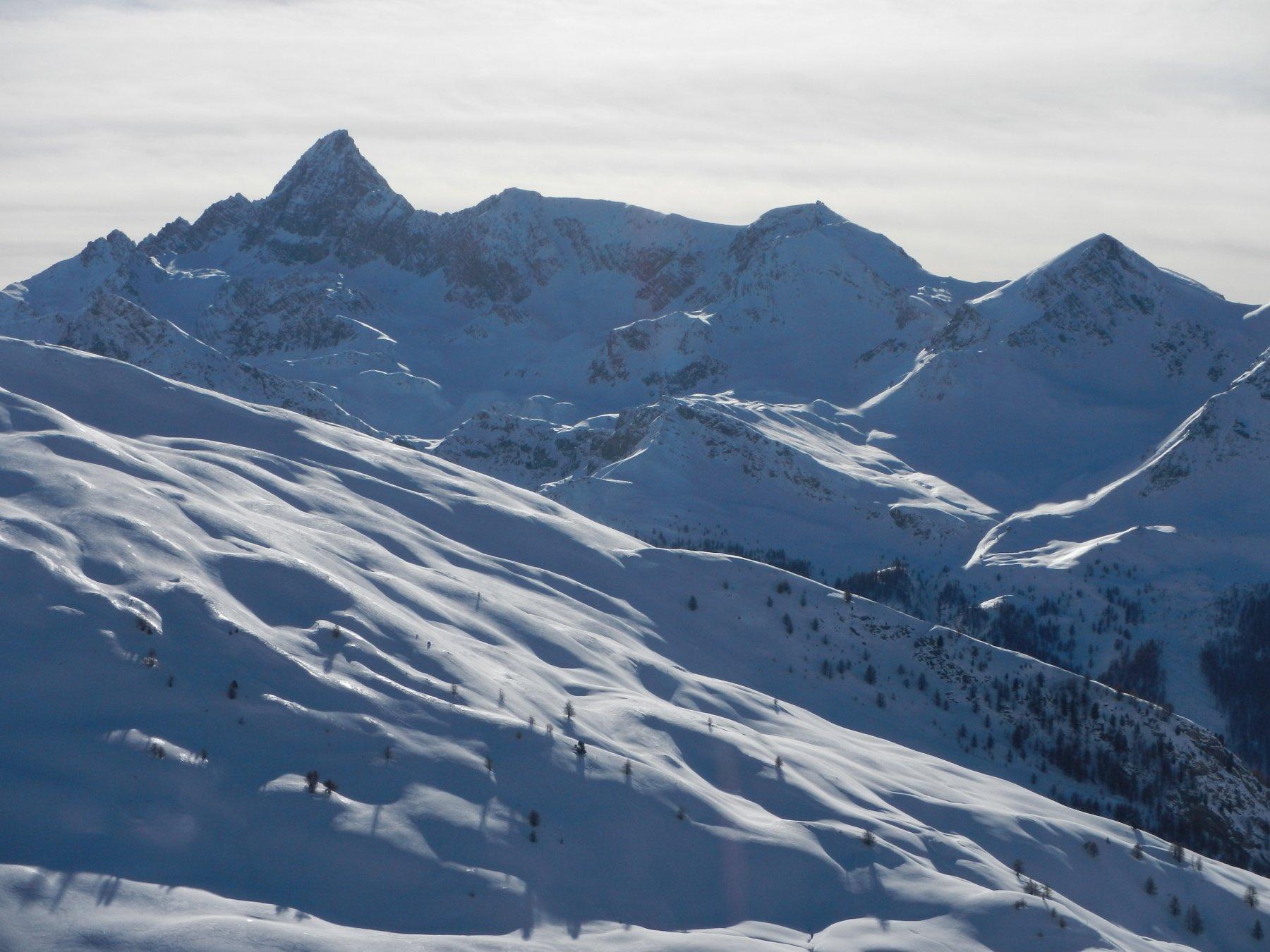 vista verso il Pic de Rochebrune