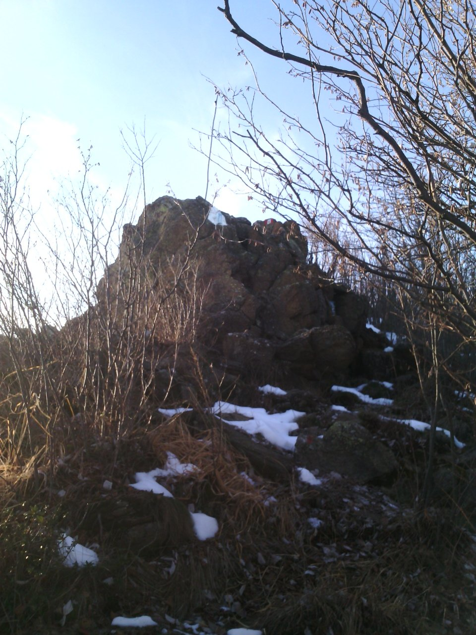 quota 1464 m o monte Lera punta ovest