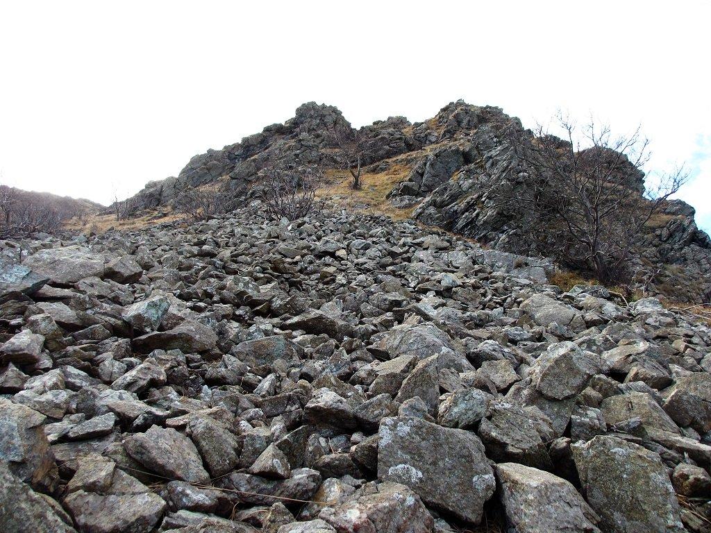 Roccette versante nord M.Pidocchio