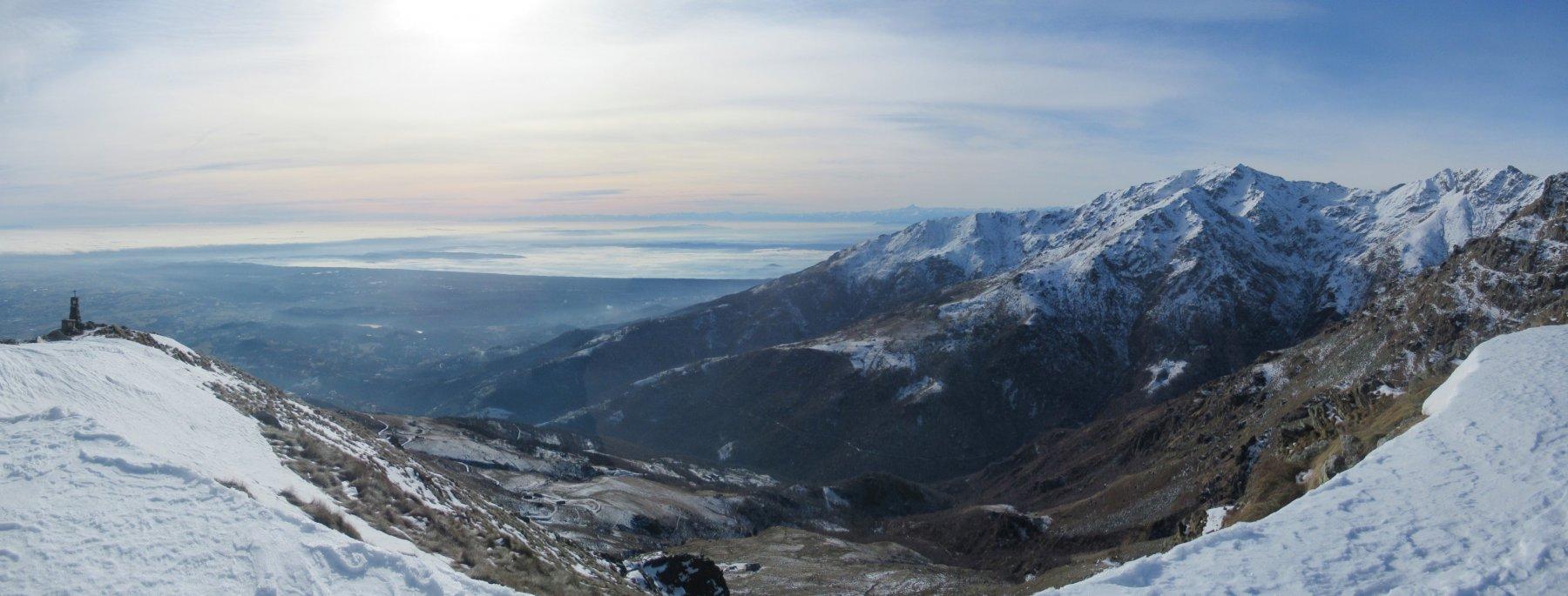 panorama verso il Mombarone