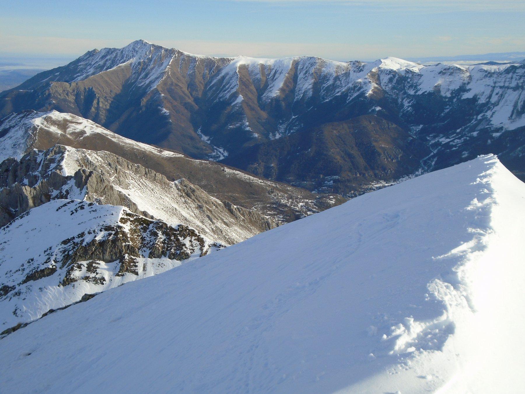 Bric Costa Rossa senza neve