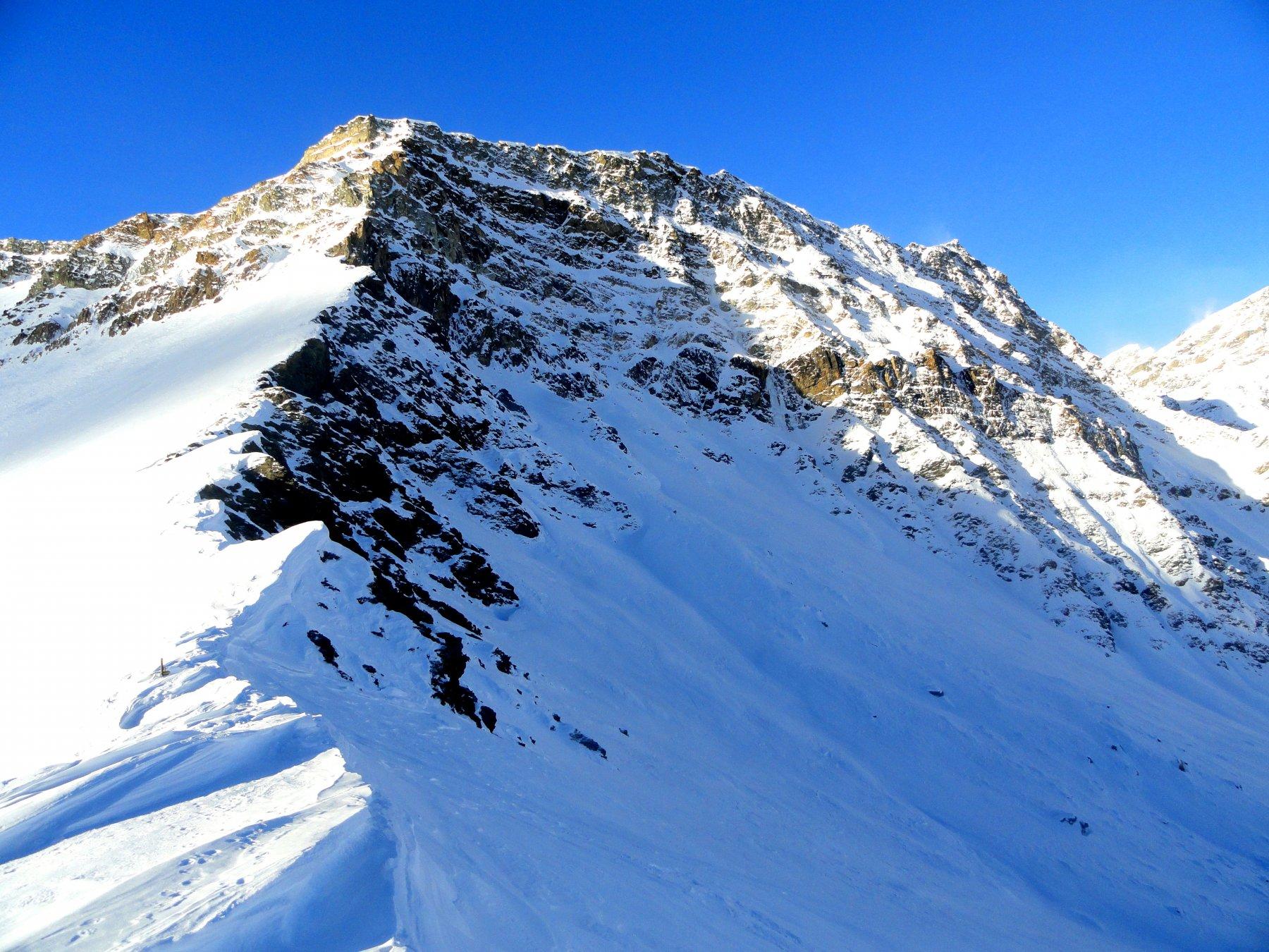 il Monte Ferra dal colle