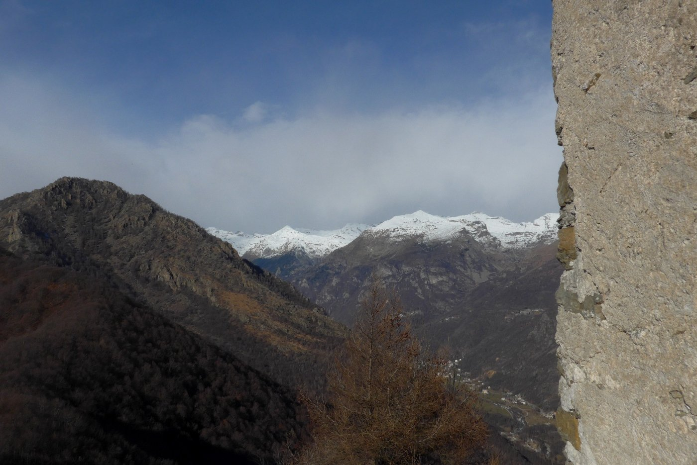 Panorama verso la Val Grande