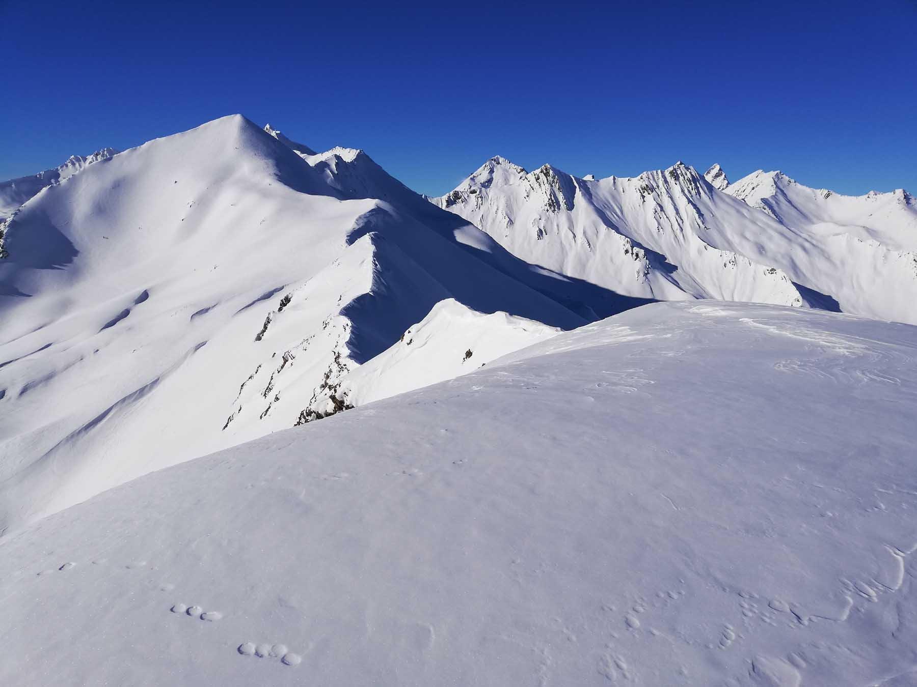 Sono tutti al Pic Blanc