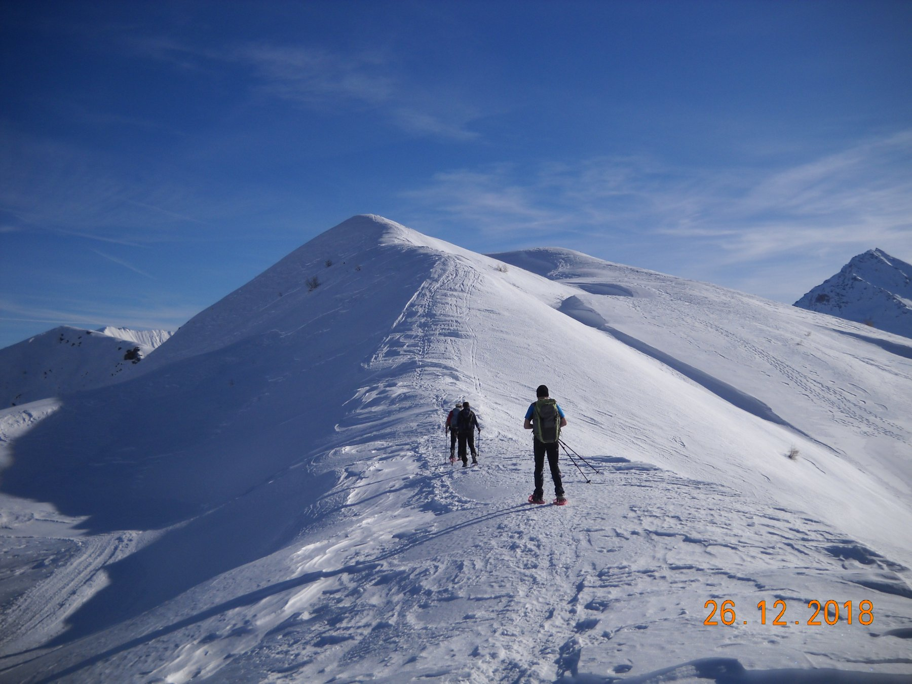 prima parte della cresta Treceria