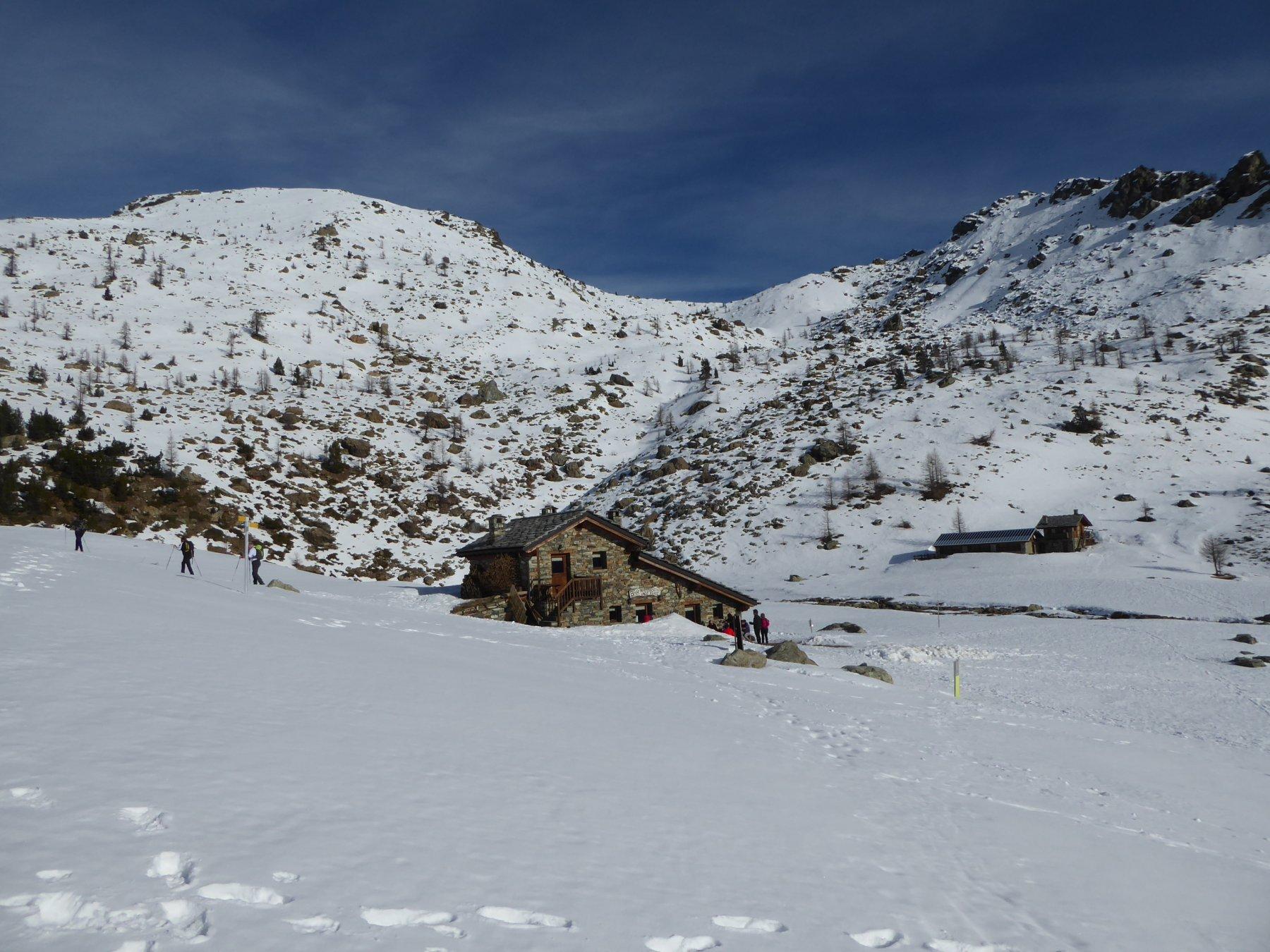 arrivando al rifugio lago Muffè