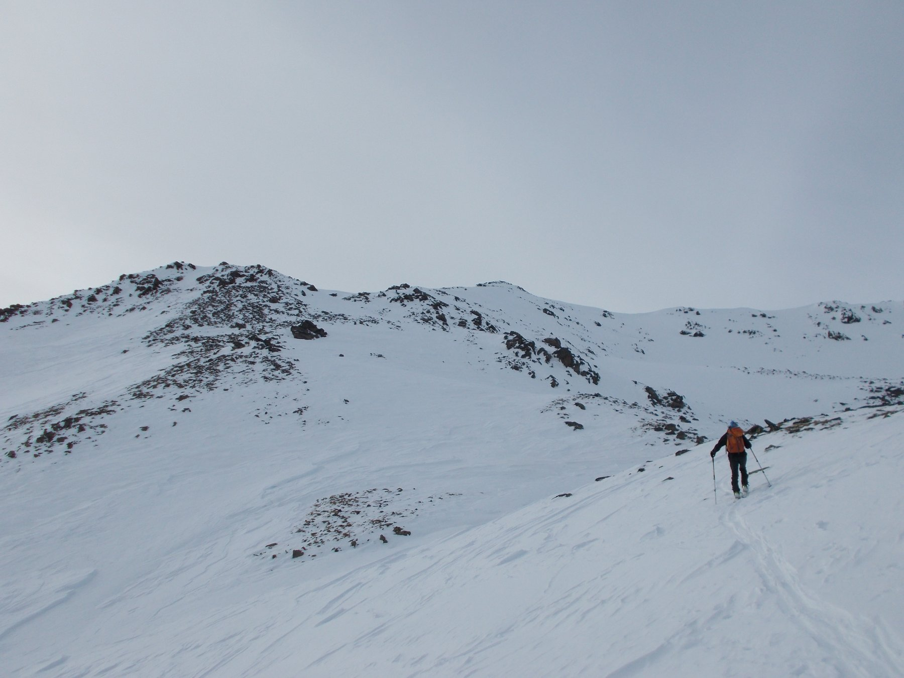 Versante di salita sopra il Lac Blanc
