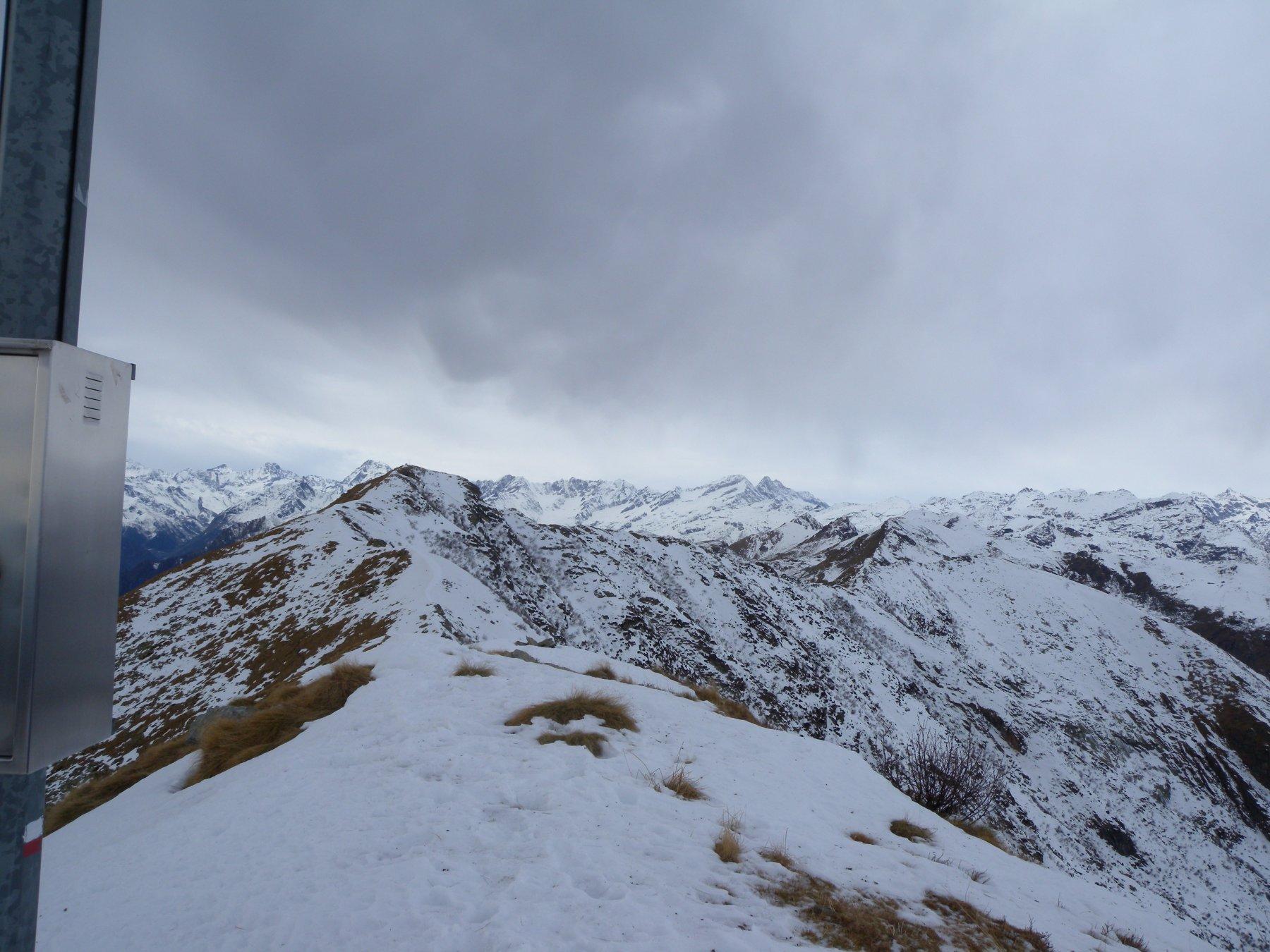 Dall'Angiolino la cresta Vaccarezza