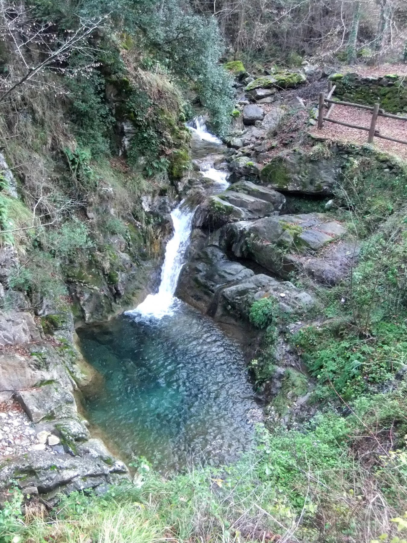 Uno dei laghetti di Tavole