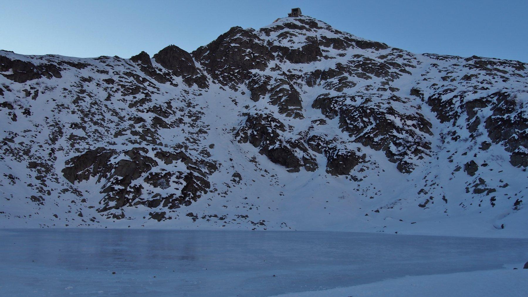 Mucrone (Monte) Parete Nord dell'anticima NO 2018-12-29