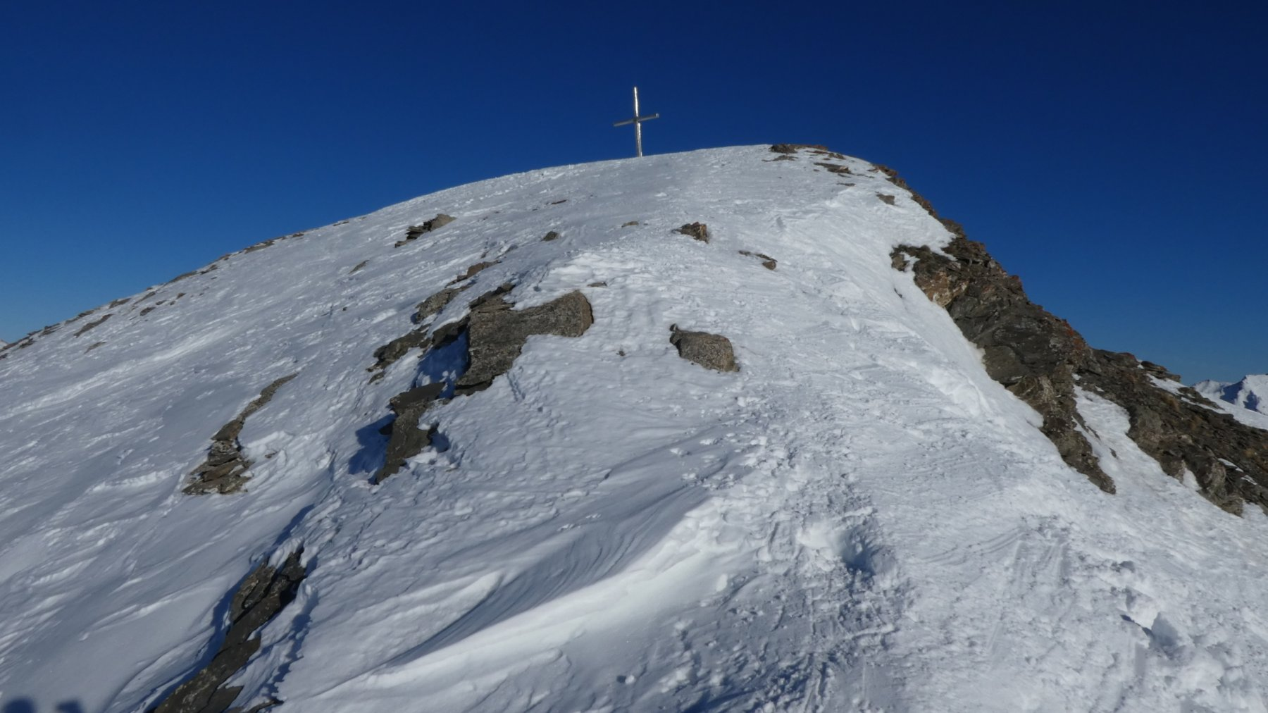 ultimi metri prima di arrivare in cima