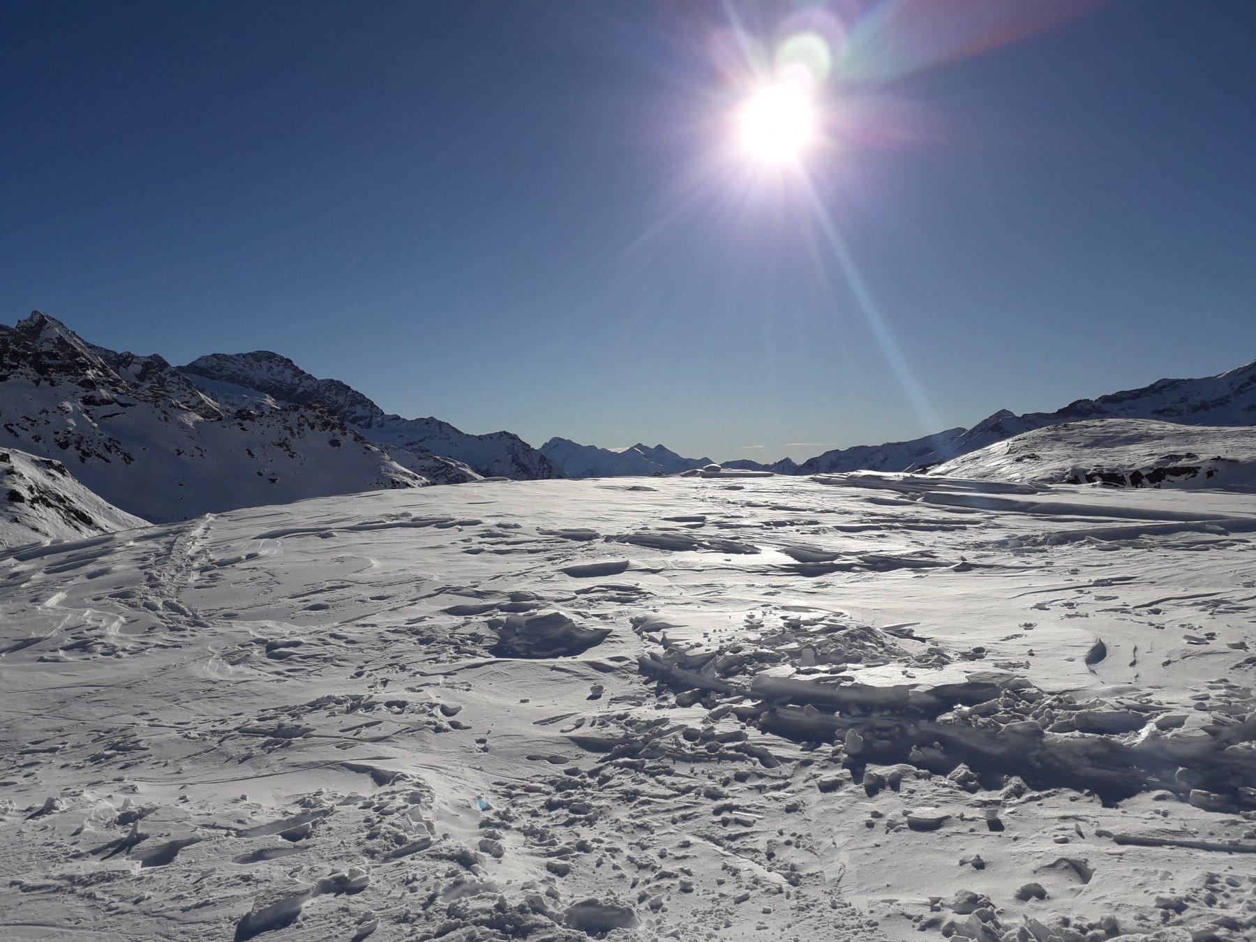 Giornata eccezionale e neve stupenda!