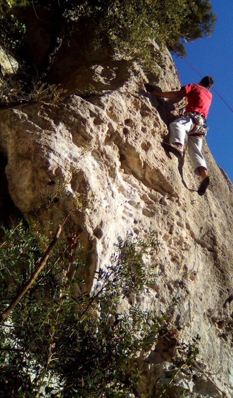 Francesco su Supernatural (5c boulderoso)