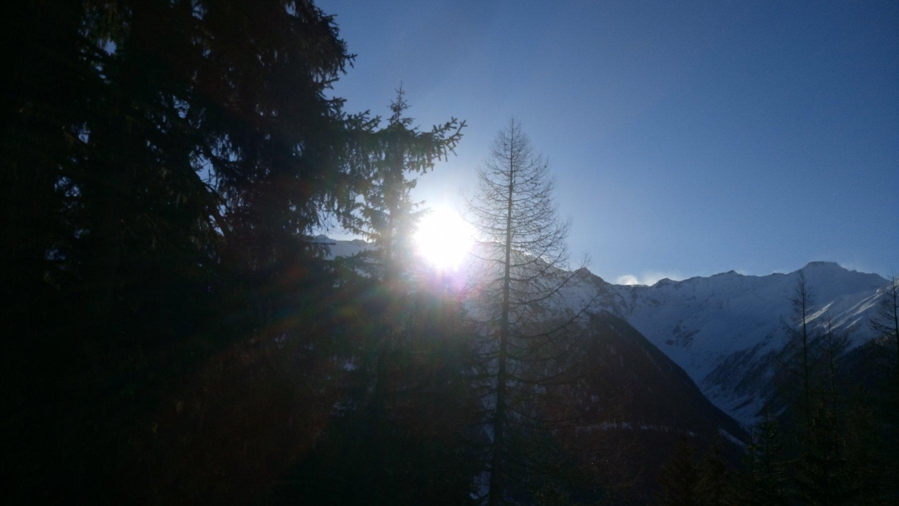 Il sole fa capolinea