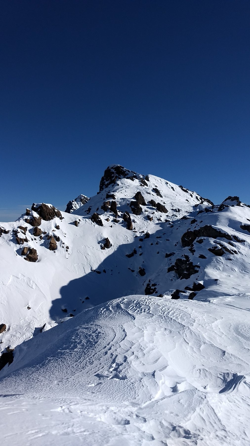 La vetta vera alpinistica