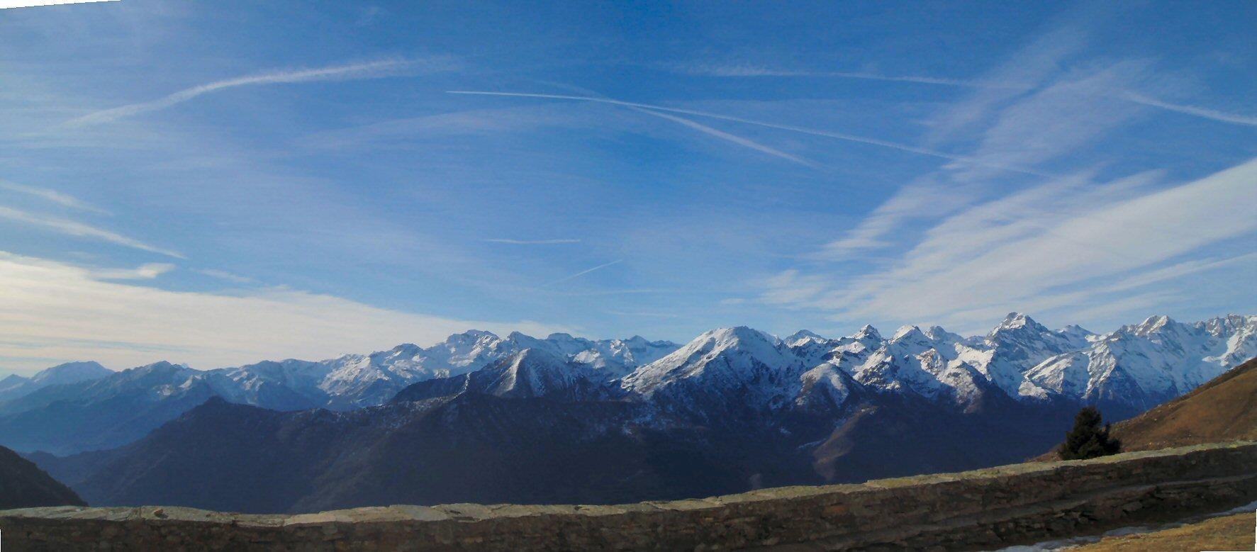Valli di lanzo con i suoi monti.