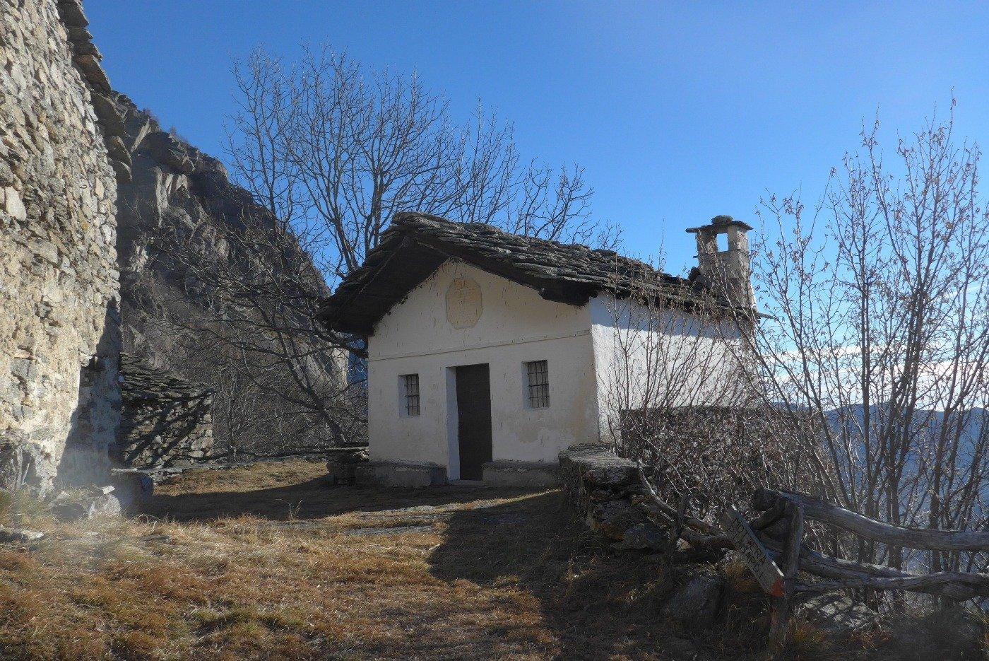 La chiesetta di Frassa