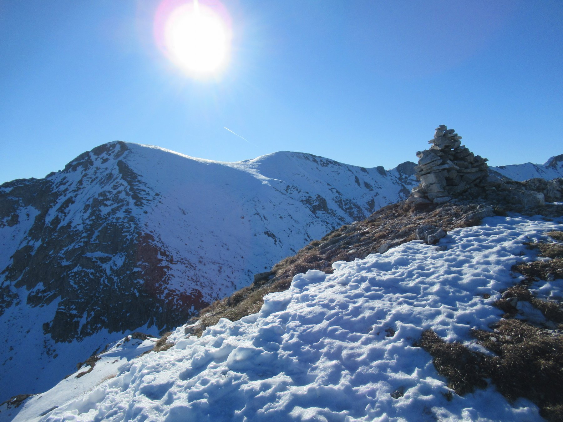 L' Antoroto visto dal Monte Grosso.