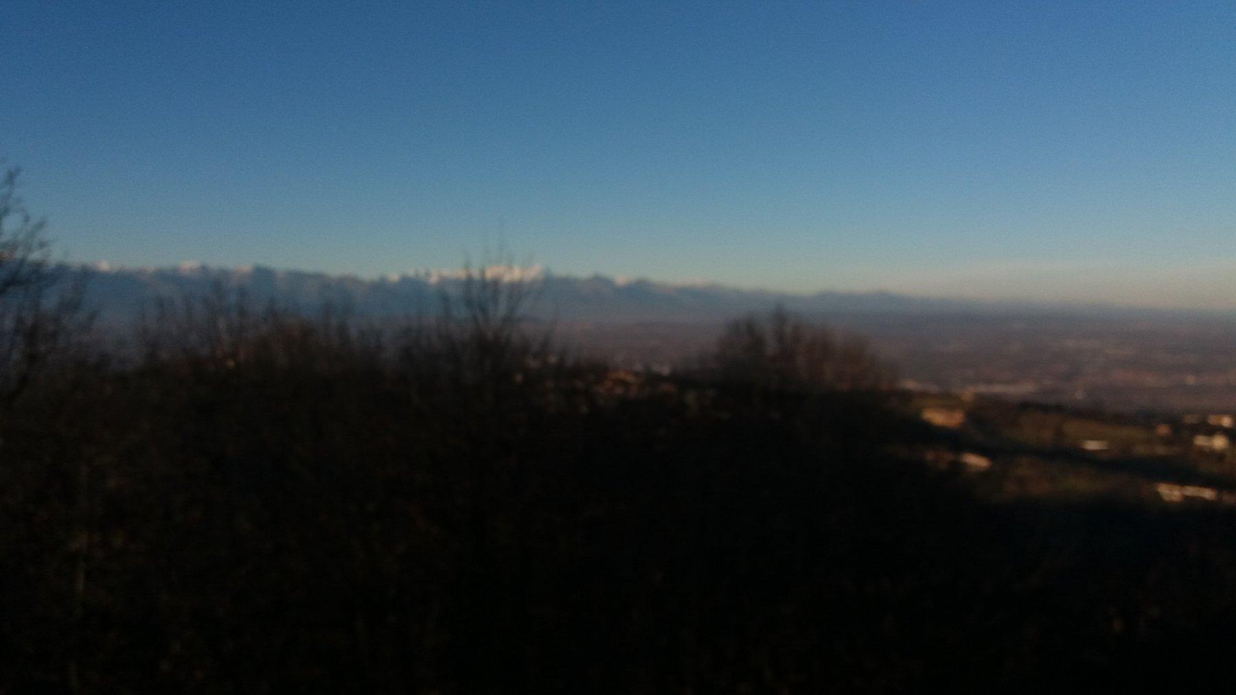 Panorama dalla croce del Vaj