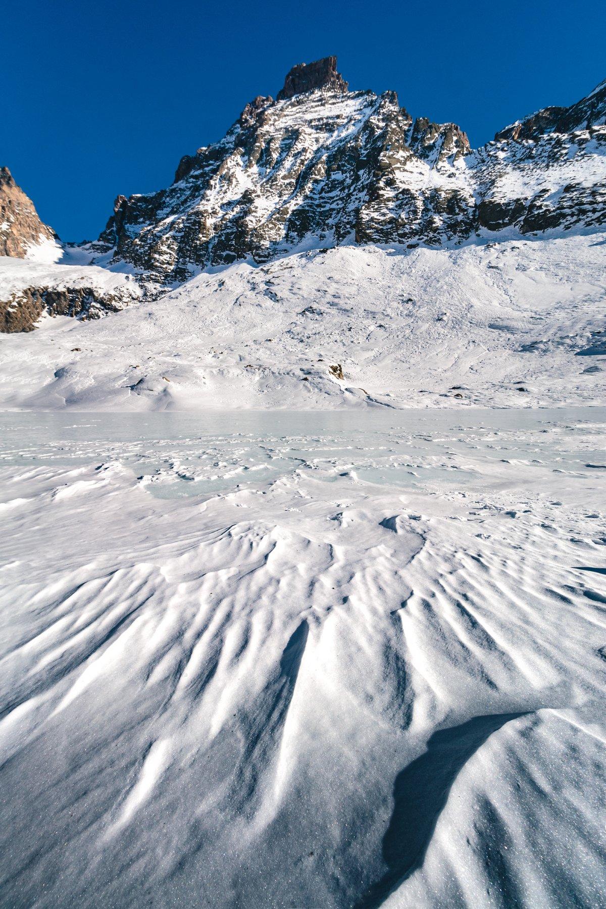 disegni nella neve